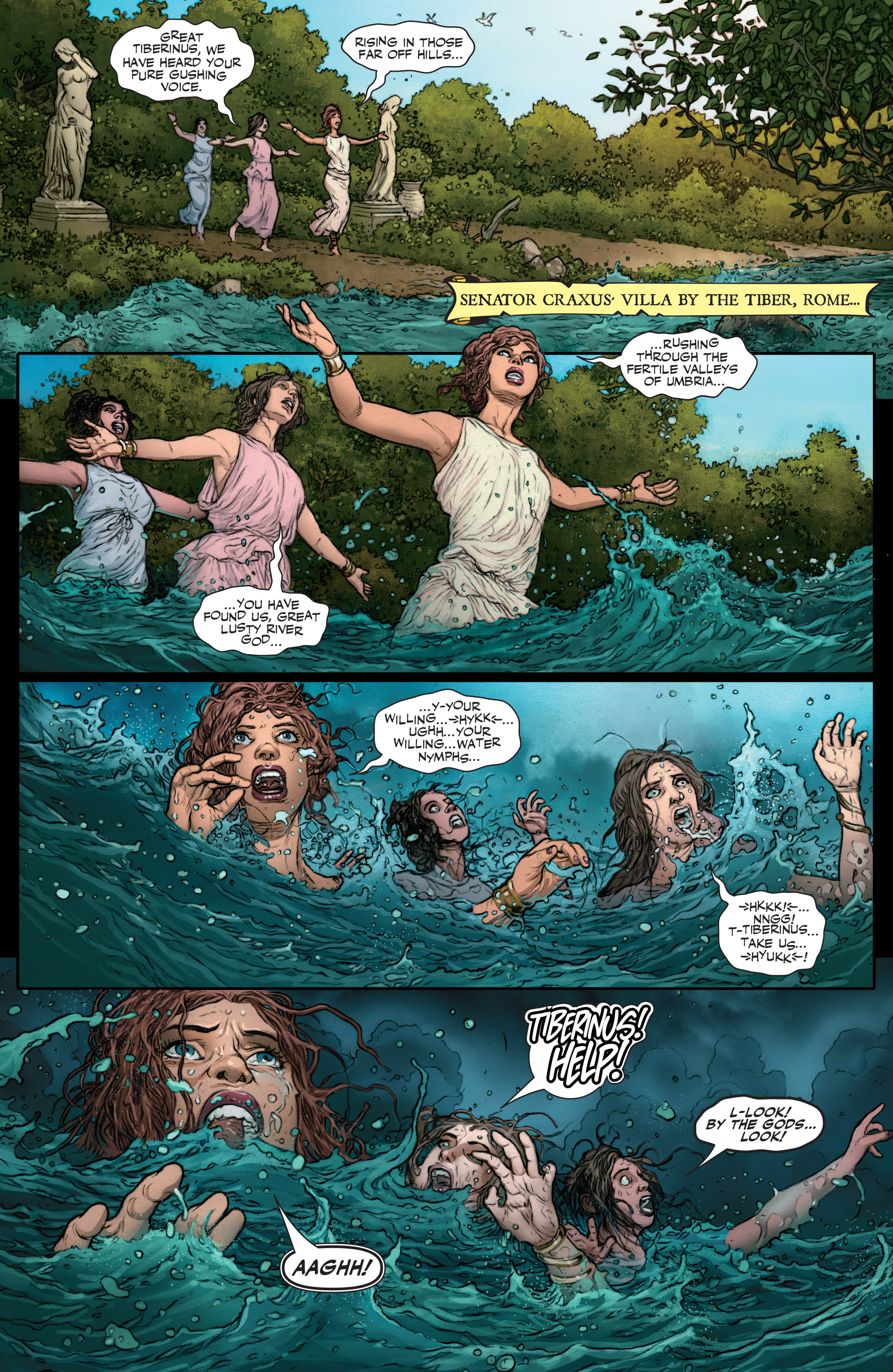Read online Britannia: We Who Are About To Die comic -  Issue #2 - 4