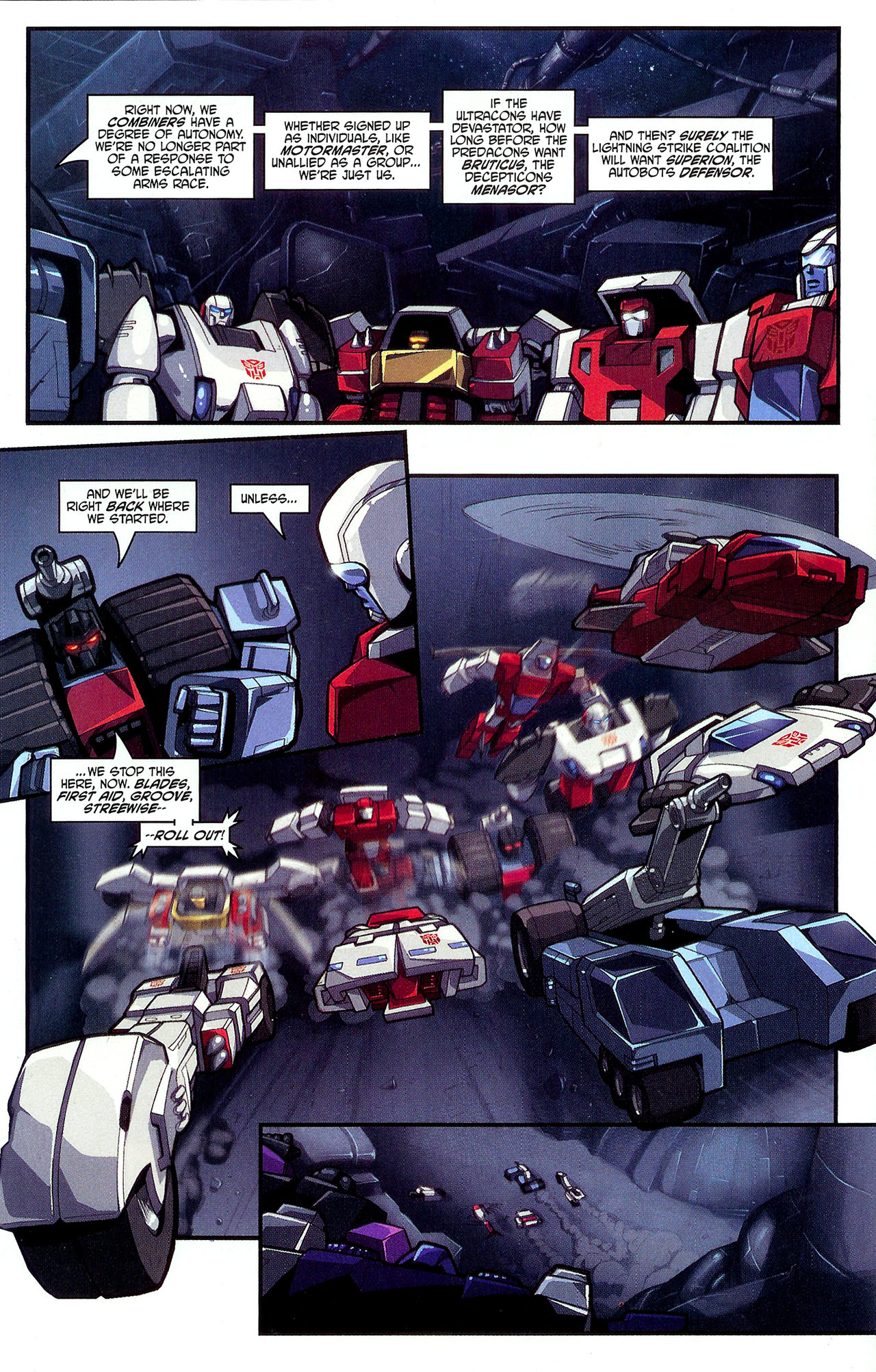 """Read online Transformers War Within: """"The Dark Ages"""" comic -  Issue #2 - 11"""