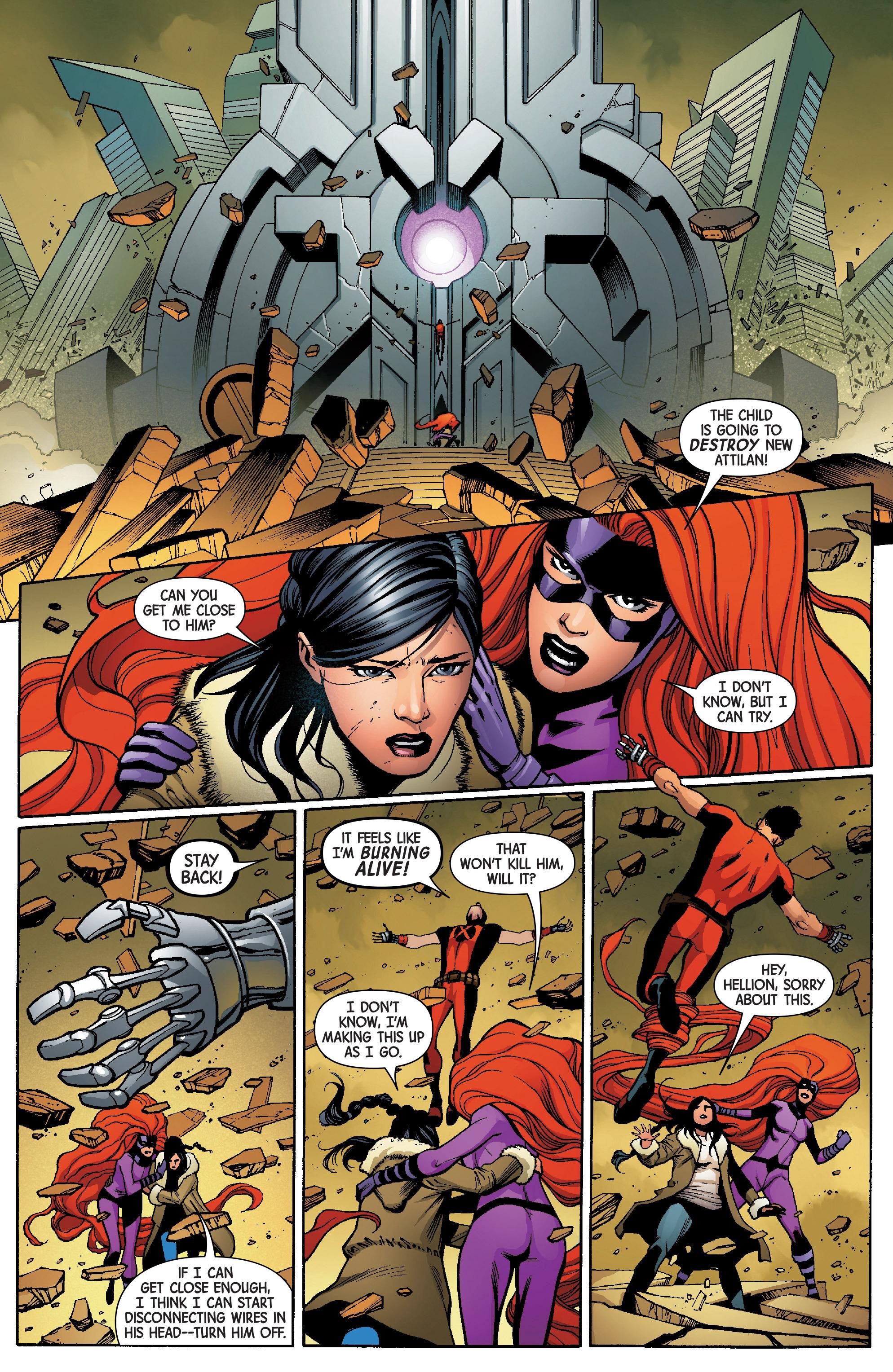 Read online Uncanny Avengers [II] comic -  Issue #6 - 12