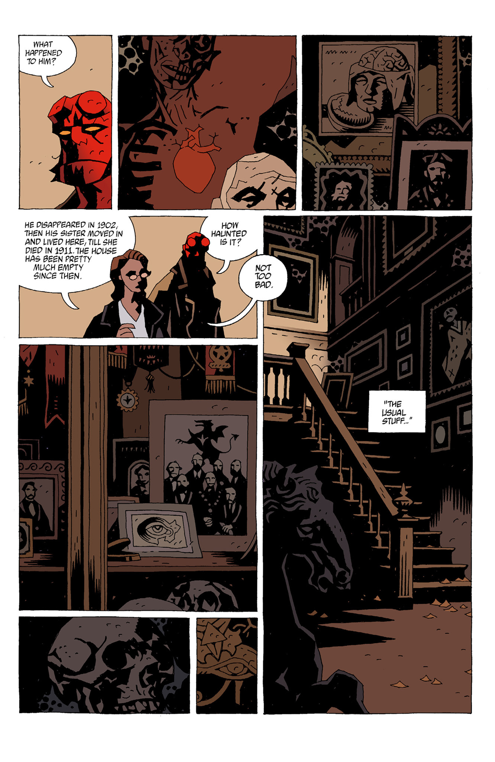 Read online Hellboy: The Troll Witch and Others comic -  Issue # TPB - 57