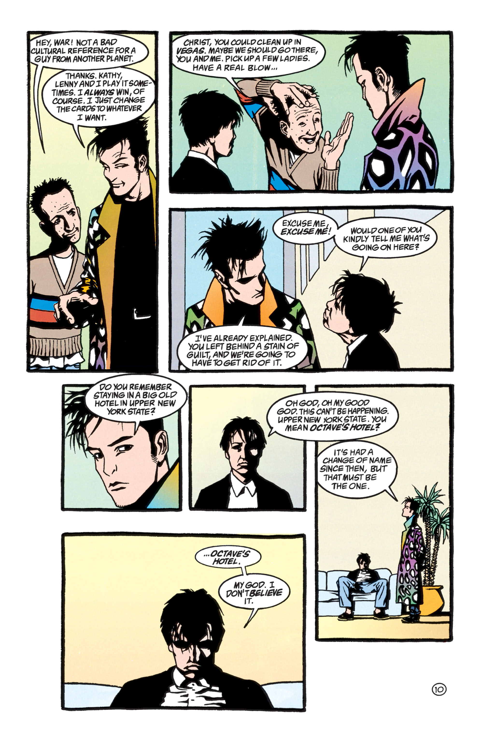 Read online Shade, the Changing Man comic -  Issue #40 - 11