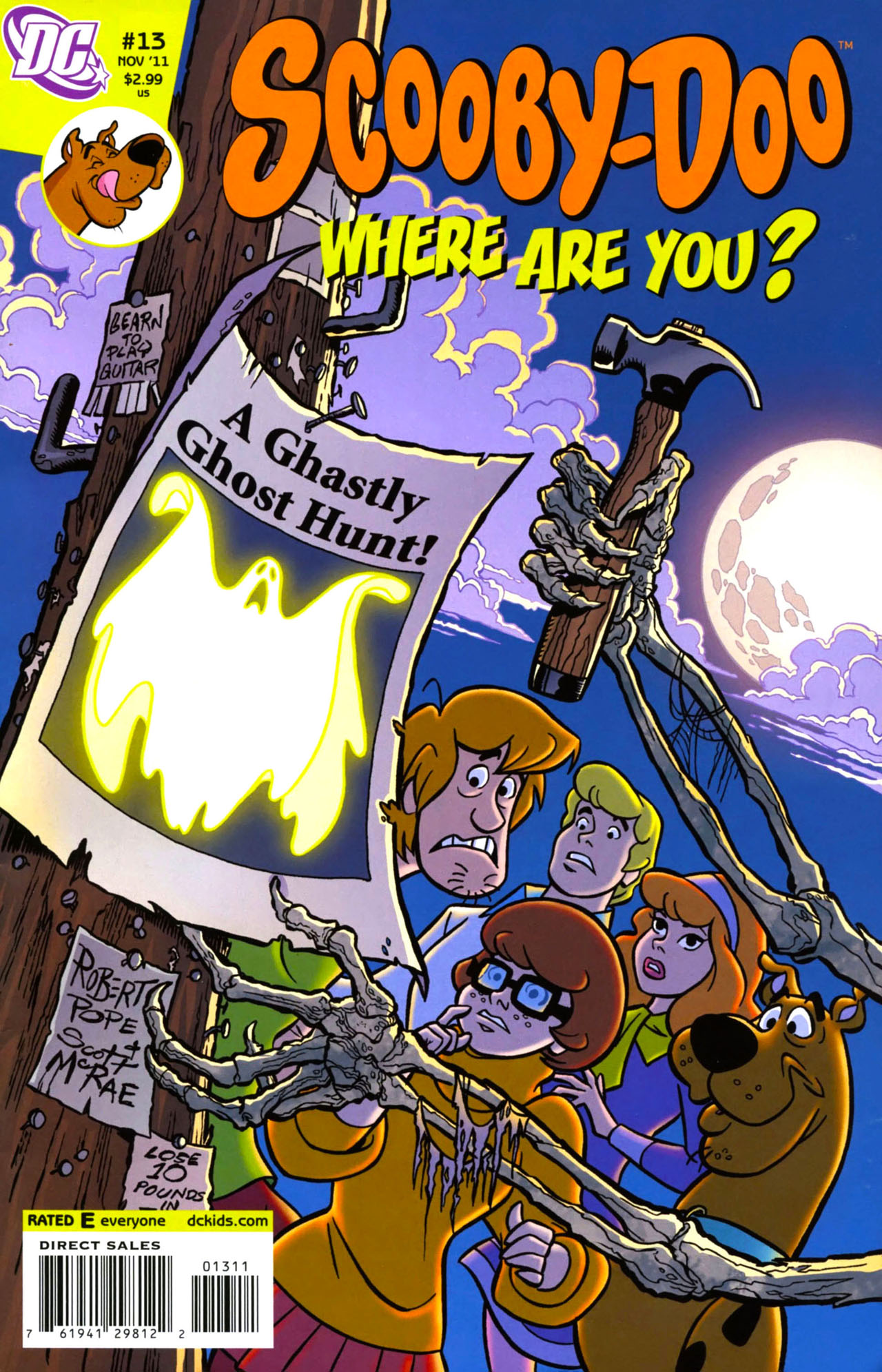 Read online Scooby-Doo: Where Are You? comic -  Issue #13 - 1