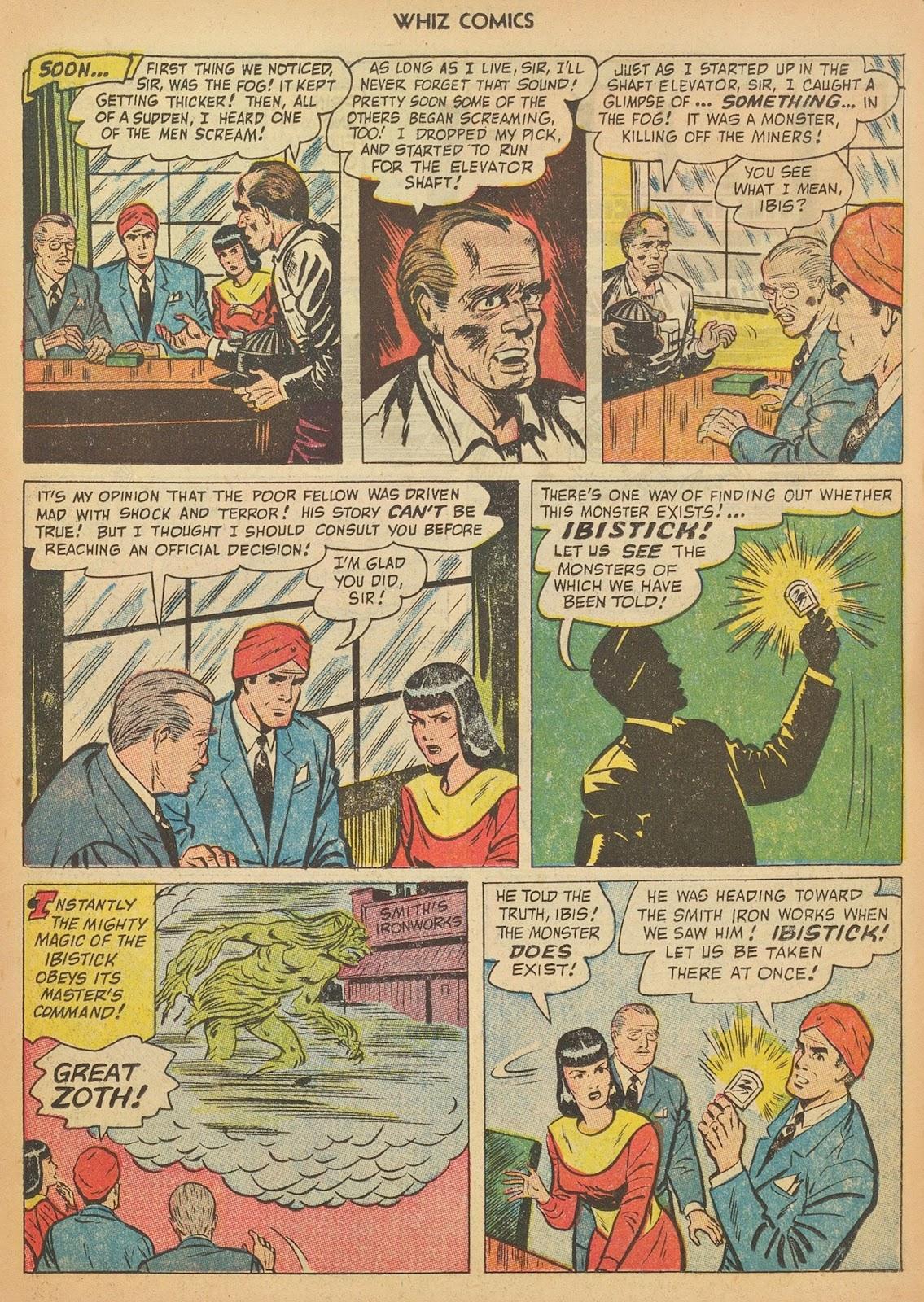 Read online WHIZ Comics comic -  Issue #153 - 11