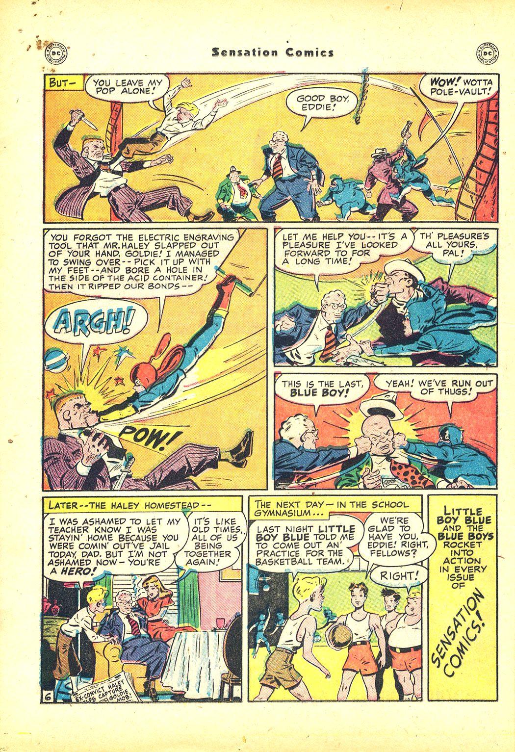 Read online Sensation (Mystery) Comics comic -  Issue #81 - 22