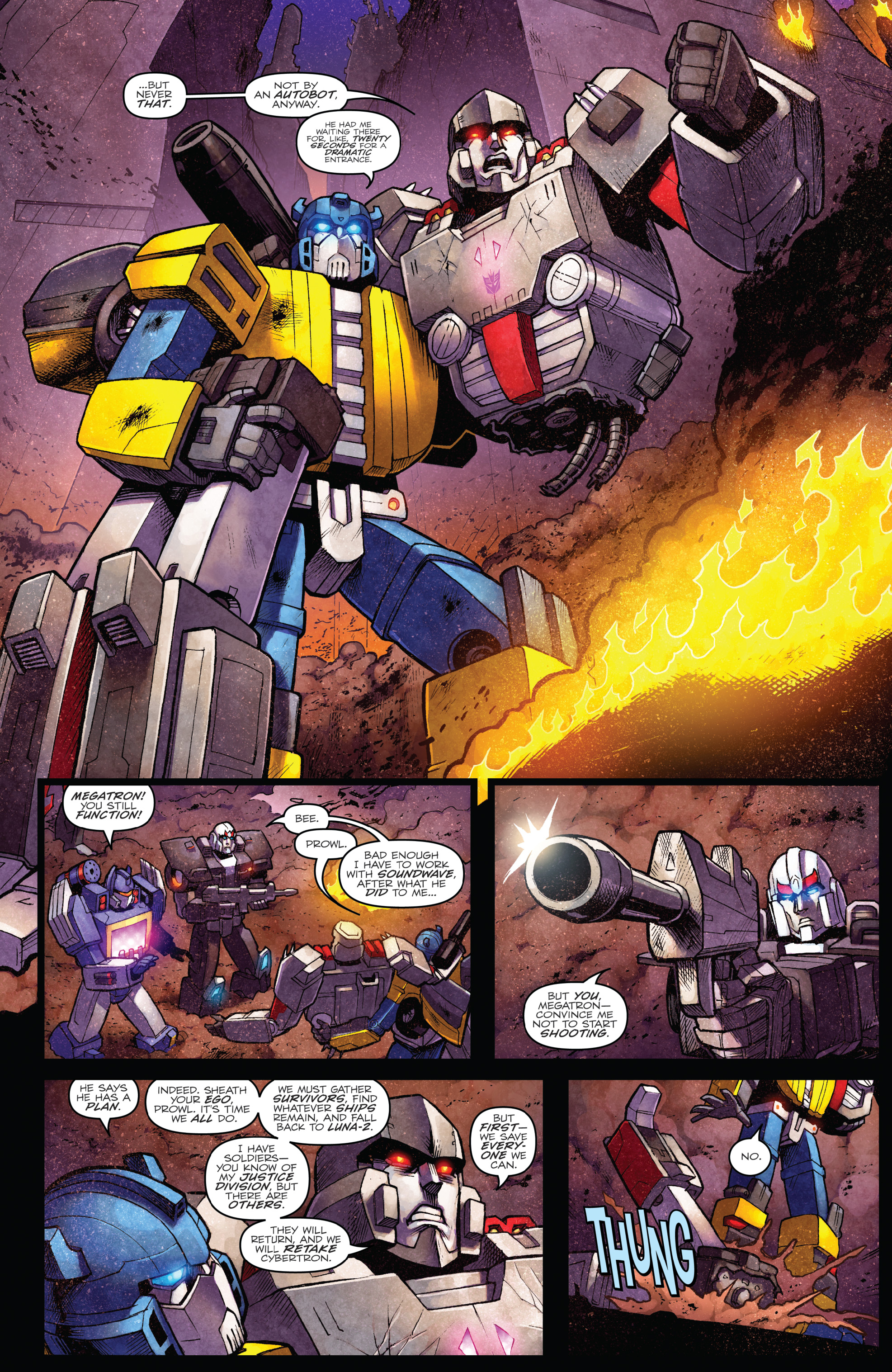 Read online The Transformers: Dark Cybertron Finale comic -  Issue # Full - 49