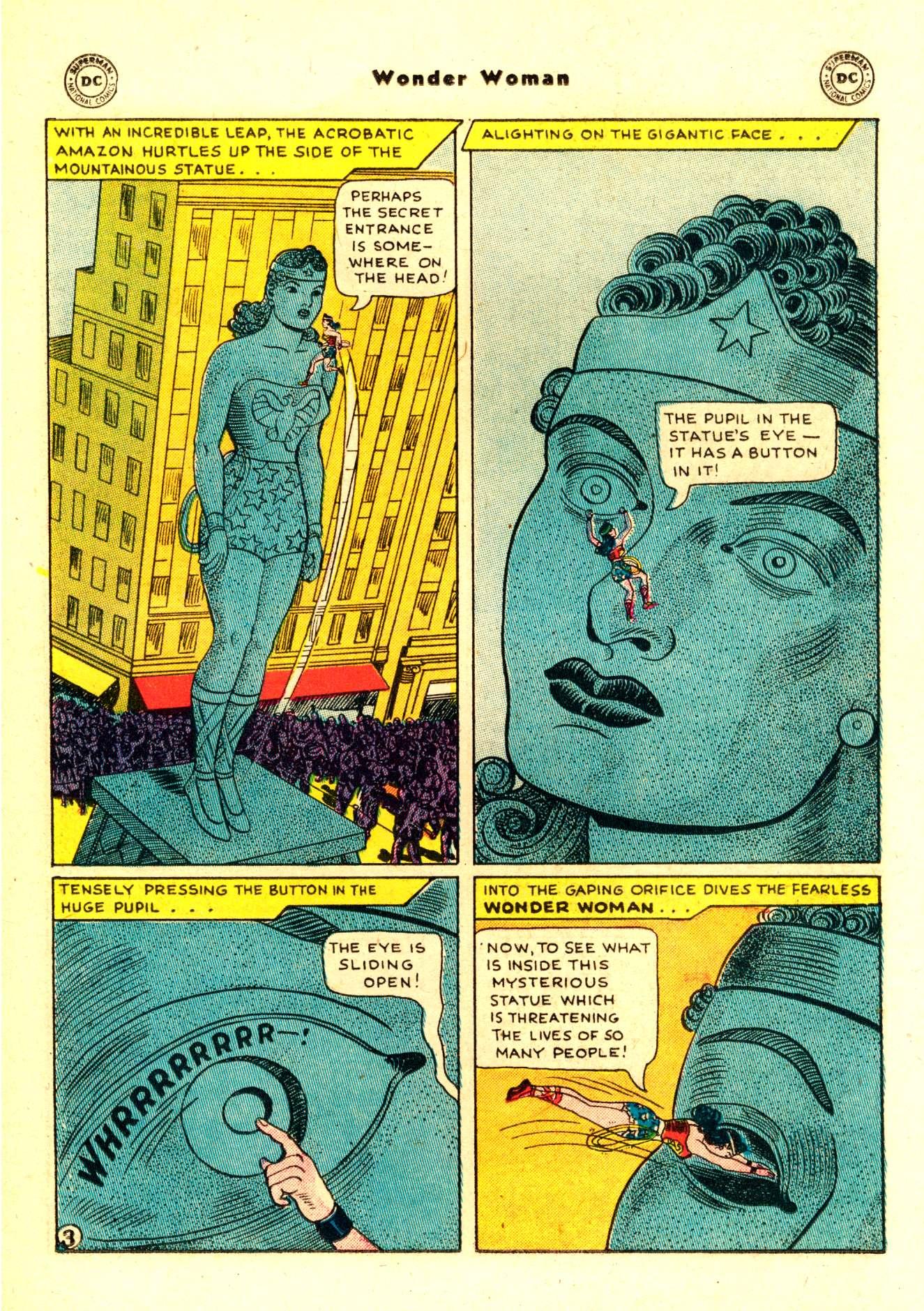 Read online Wonder Woman (1942) comic -  Issue #84 - 16