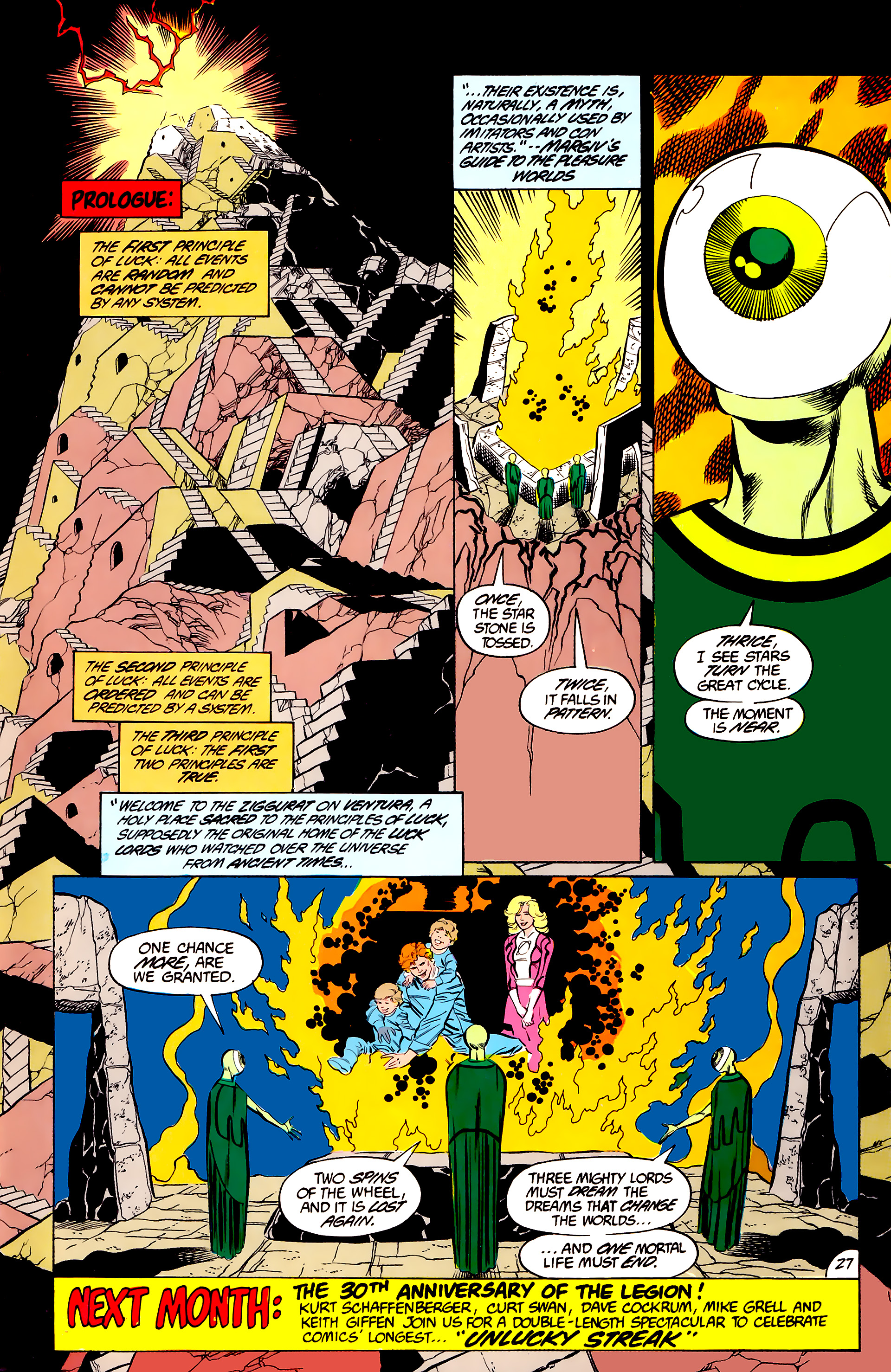 Legion of Super-Heroes (1984) 44 Page 27
