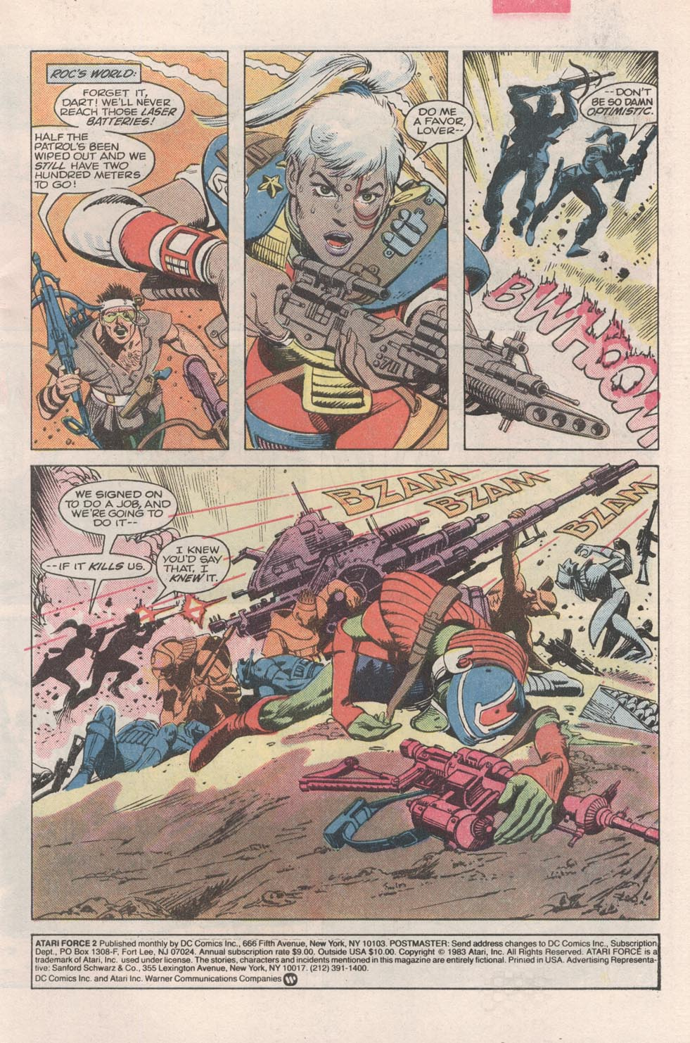 Read online Atari Force (1984) comic -  Issue #2 - 2