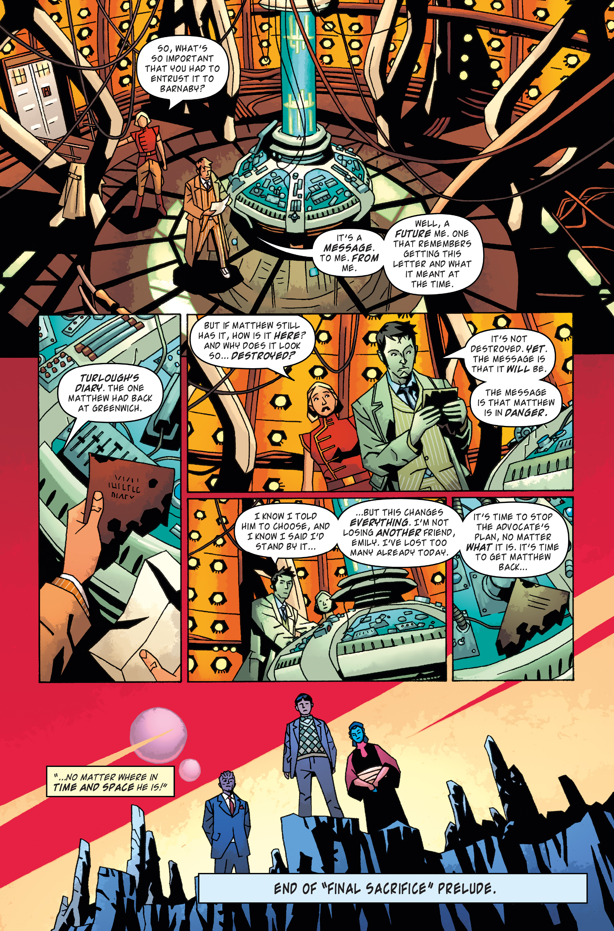 Read online Doctor Who: The Tenth Doctor Archives comic -  Issue #31 - 6