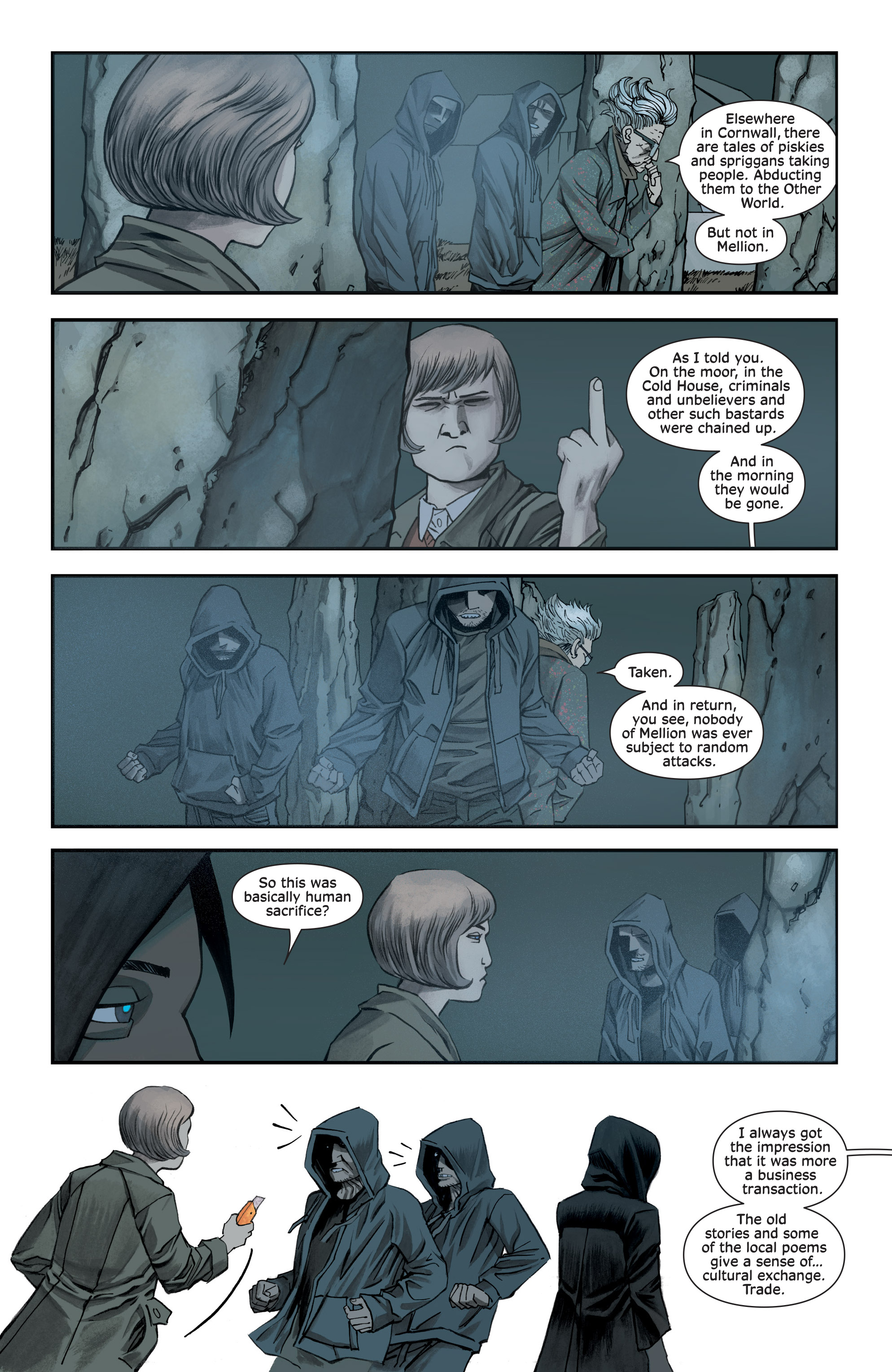 Read online Injection comic -  Issue #13 - 7