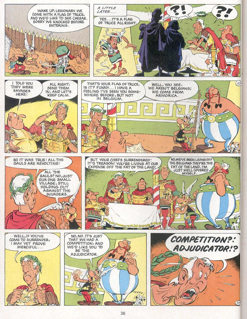 Read online Asterix comic -  Issue #24 - 33