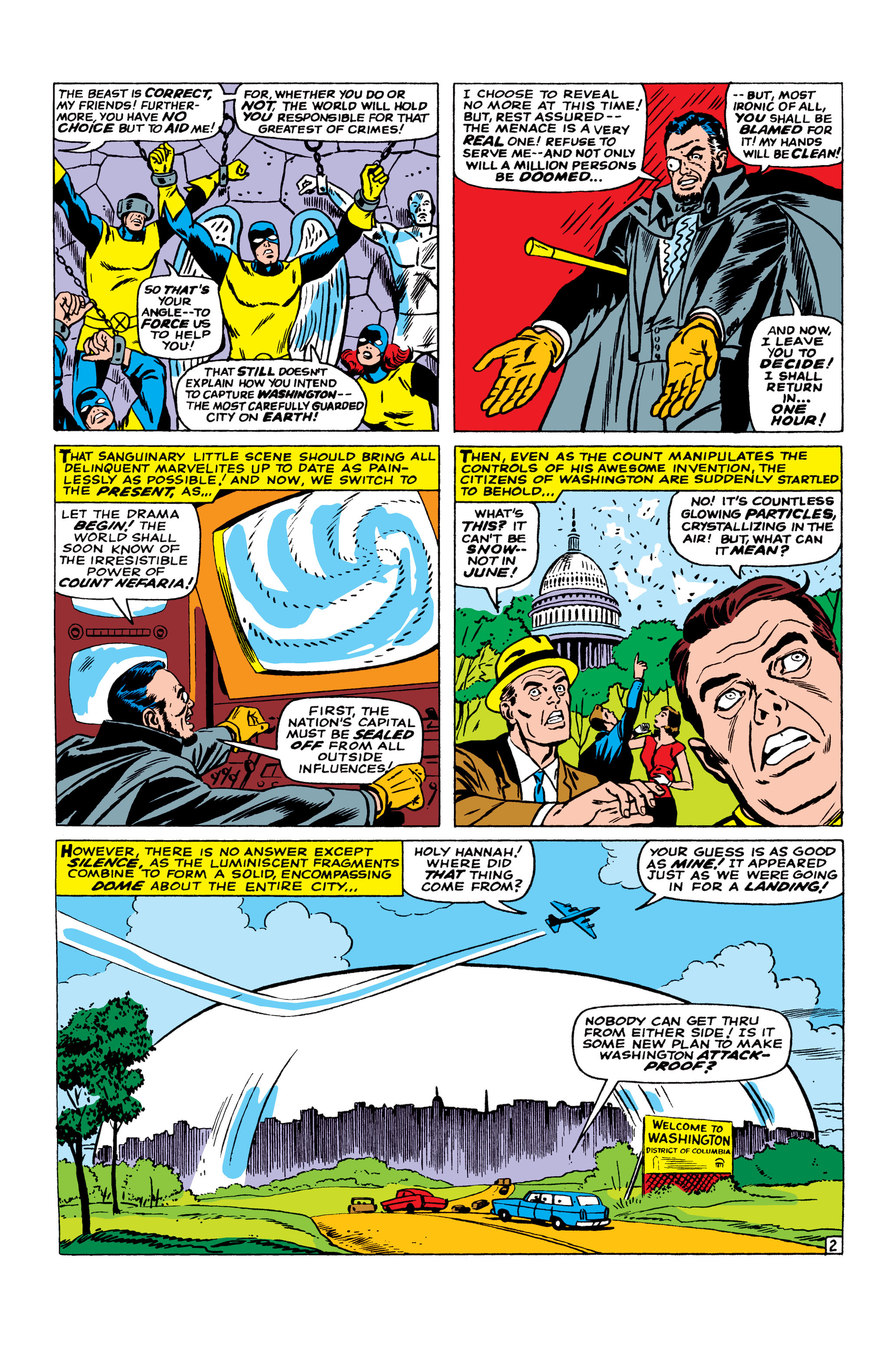 Read online Uncanny X-Men (1963) comic -  Issue #23 - 3