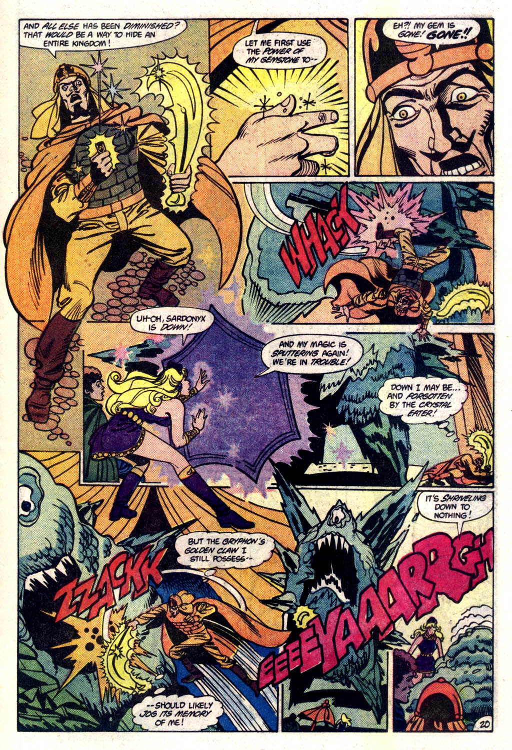Read online Amethyst (1985) comic -  Issue #6 - 21