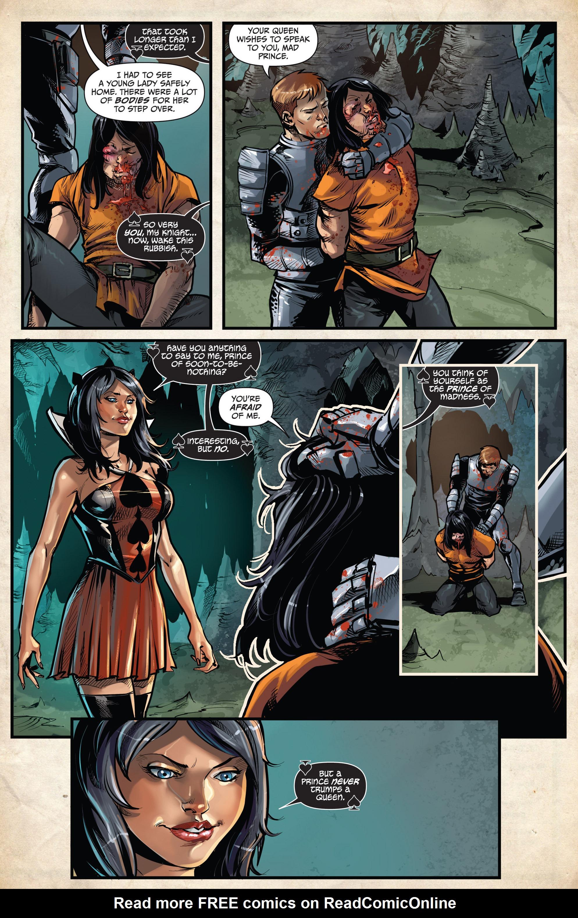 Read online Grimm Fairy Tales vs. Wonderland comic -  Issue #3 - 16