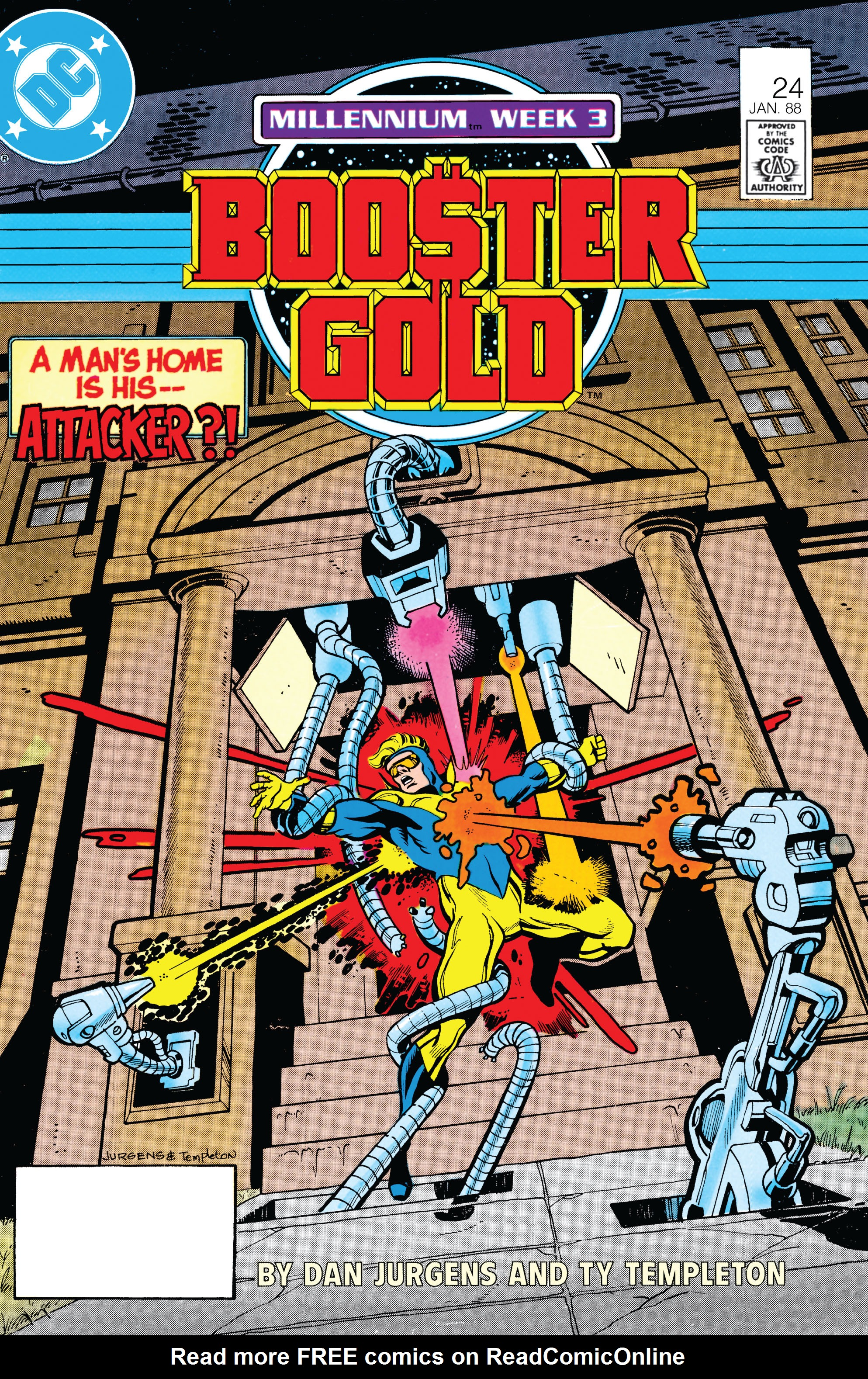 Booster Gold 1986 Issue 24