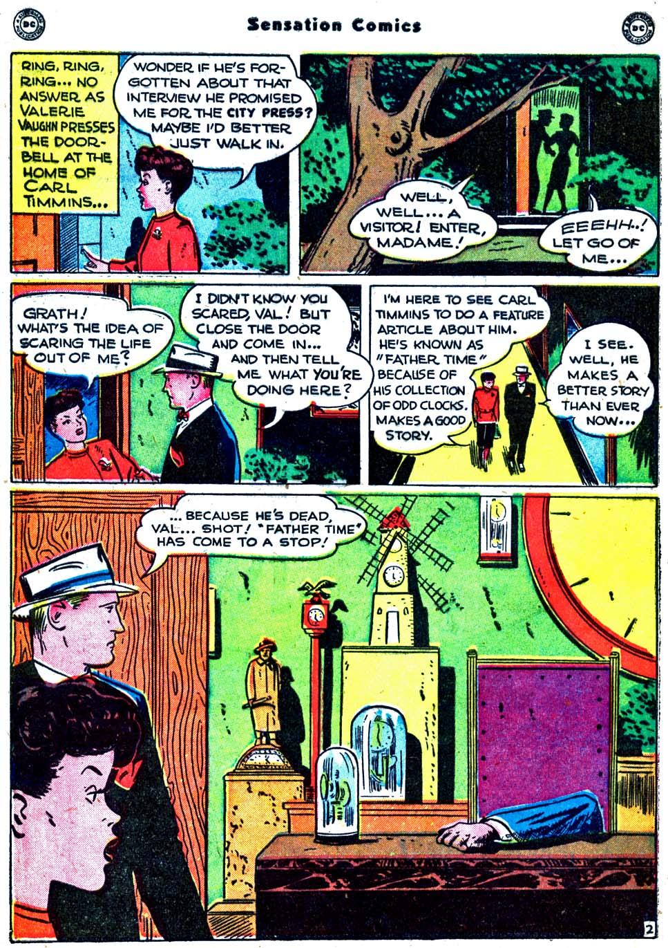 Read online Sensation (Mystery) Comics comic -  Issue #91 - 40