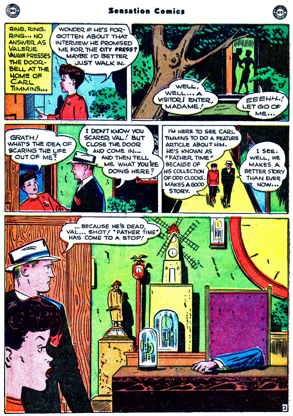 Sensation (Mystery) Comics issue 91 - Page 40