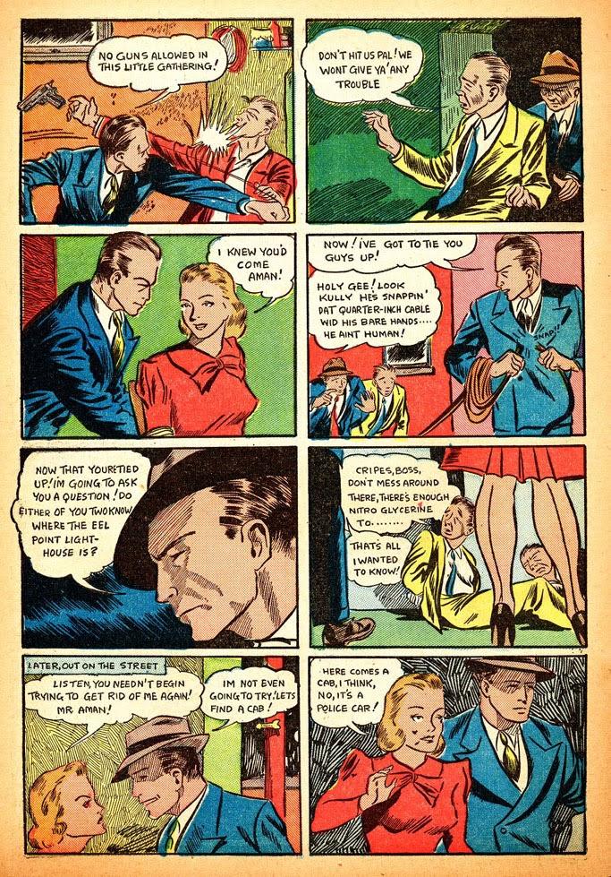 Read online Amazing Man Comics comic -  Issue #12 - 16