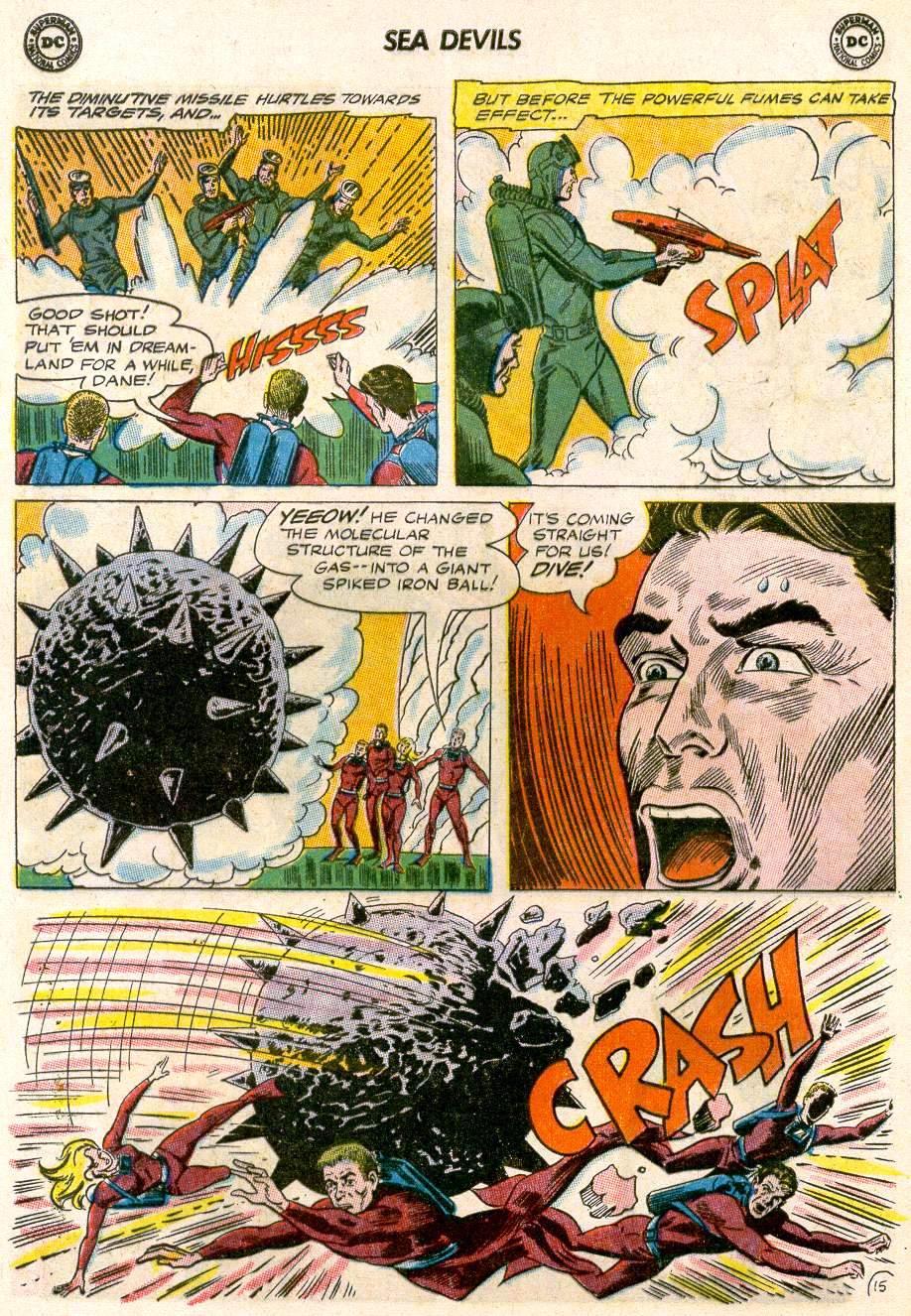 Read online Sea Devils comic -  Issue #20 - 20