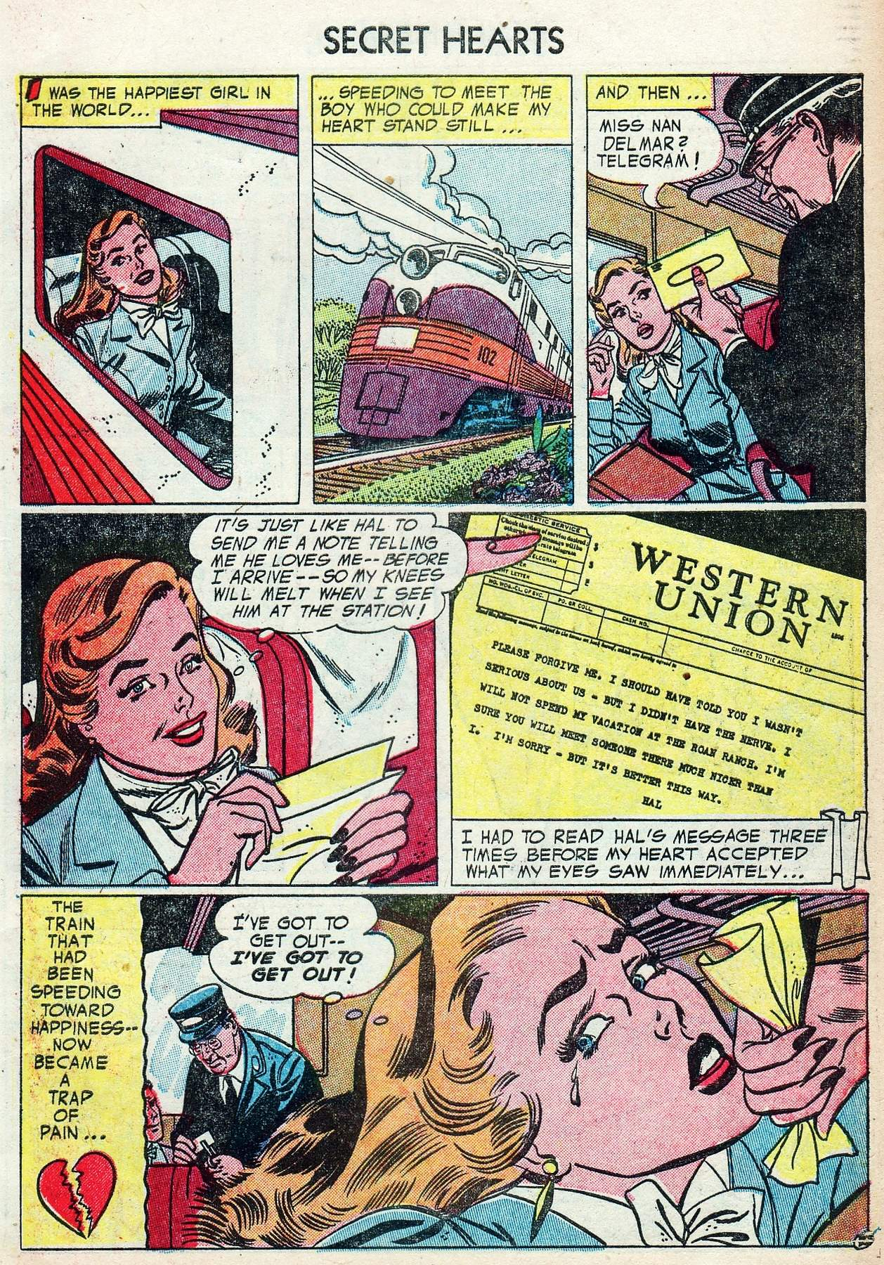 Read online Secret Hearts comic -  Issue #25 - 27