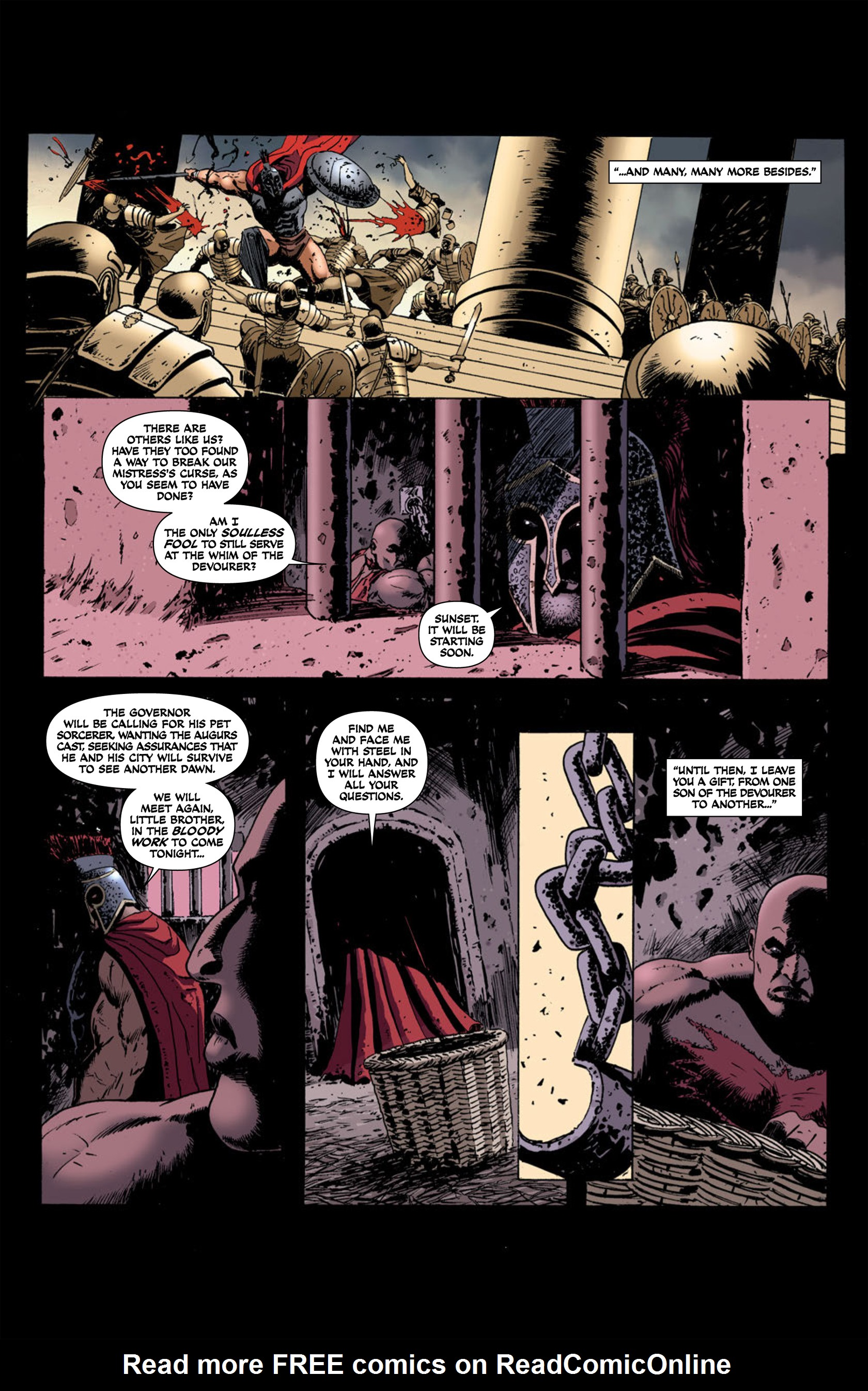 Read online Aquila comic -  Issue #2 - 6