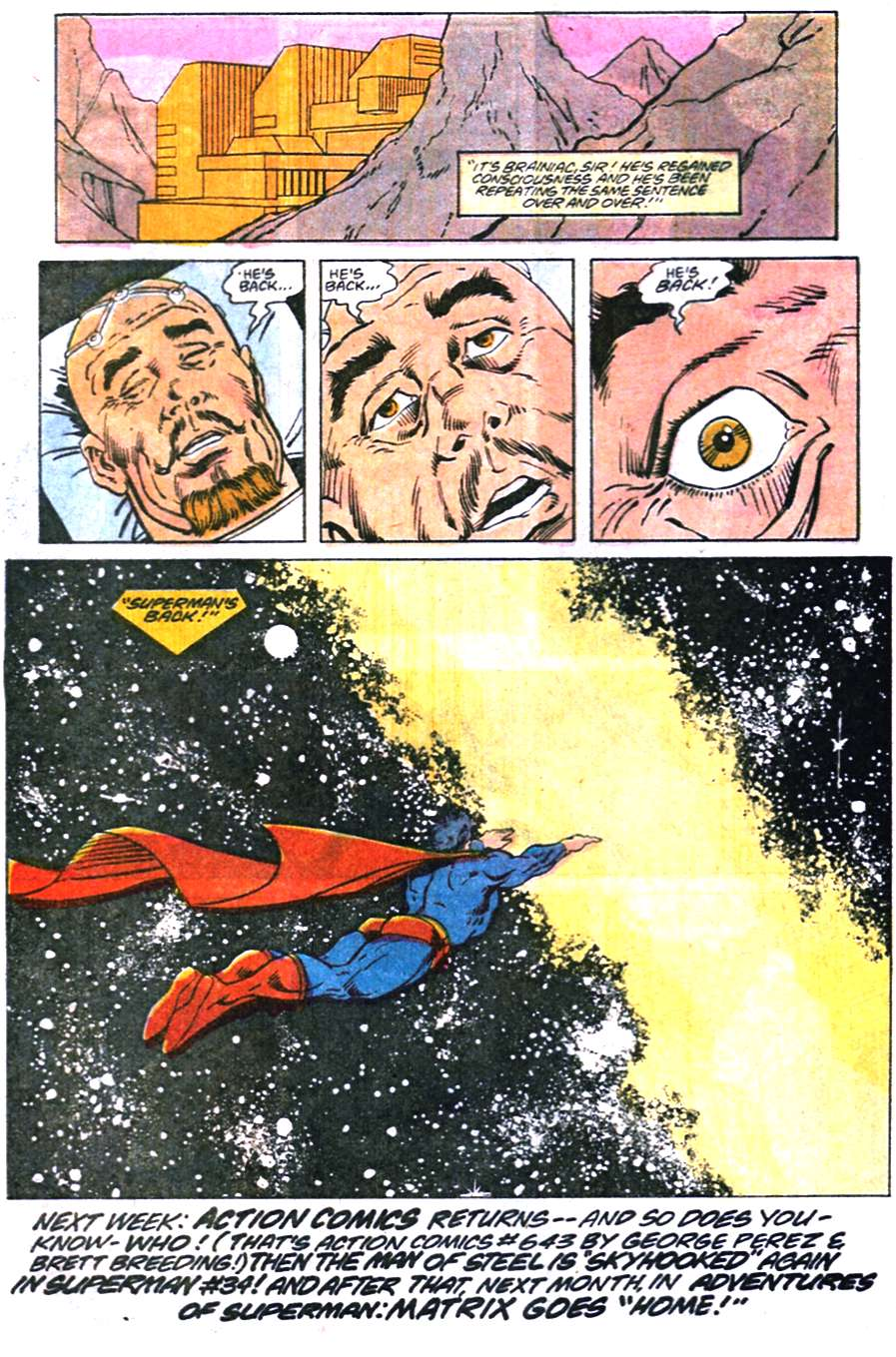 Read online Adventures of Superman (1987) comic -  Issue #456 - 22