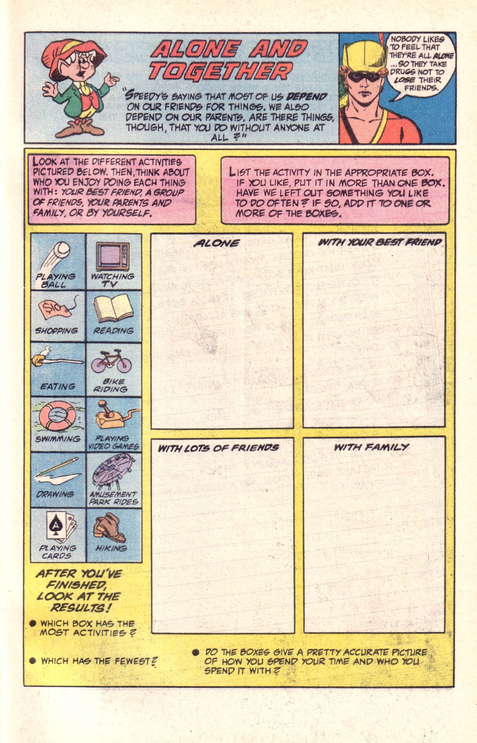 Read online The New Teen Titans (Drug Awareness Specials) comic -  Issue #2 - 33