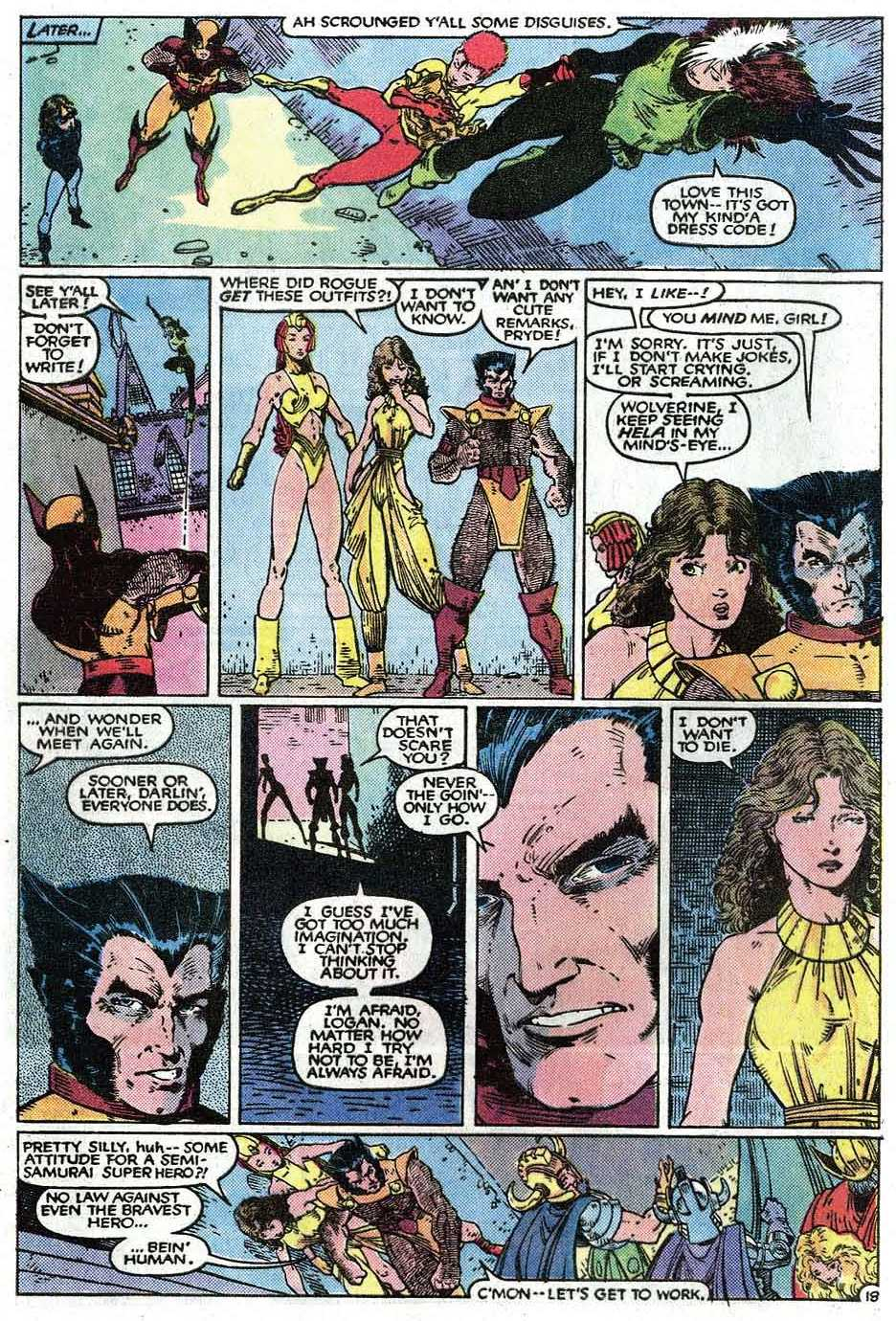 Read online Uncanny X-Men (1963) comic -  Issue # _Annual 9 - 20
