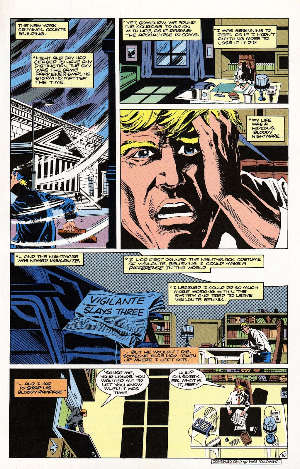 Vigilante (1983) issue 22 - Page 11