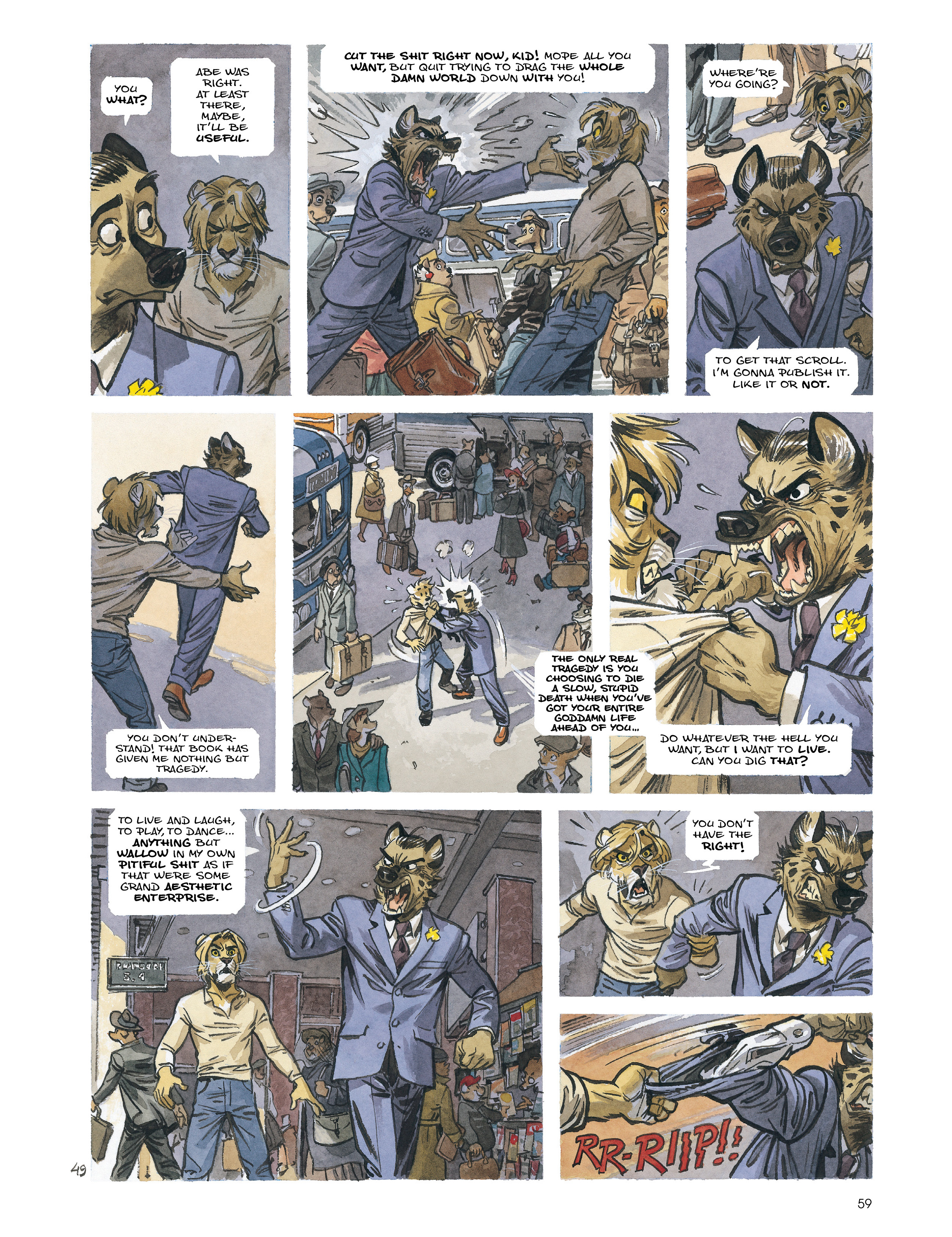 Read online Blacksad: Amarillo comic -  Issue # Full - 58