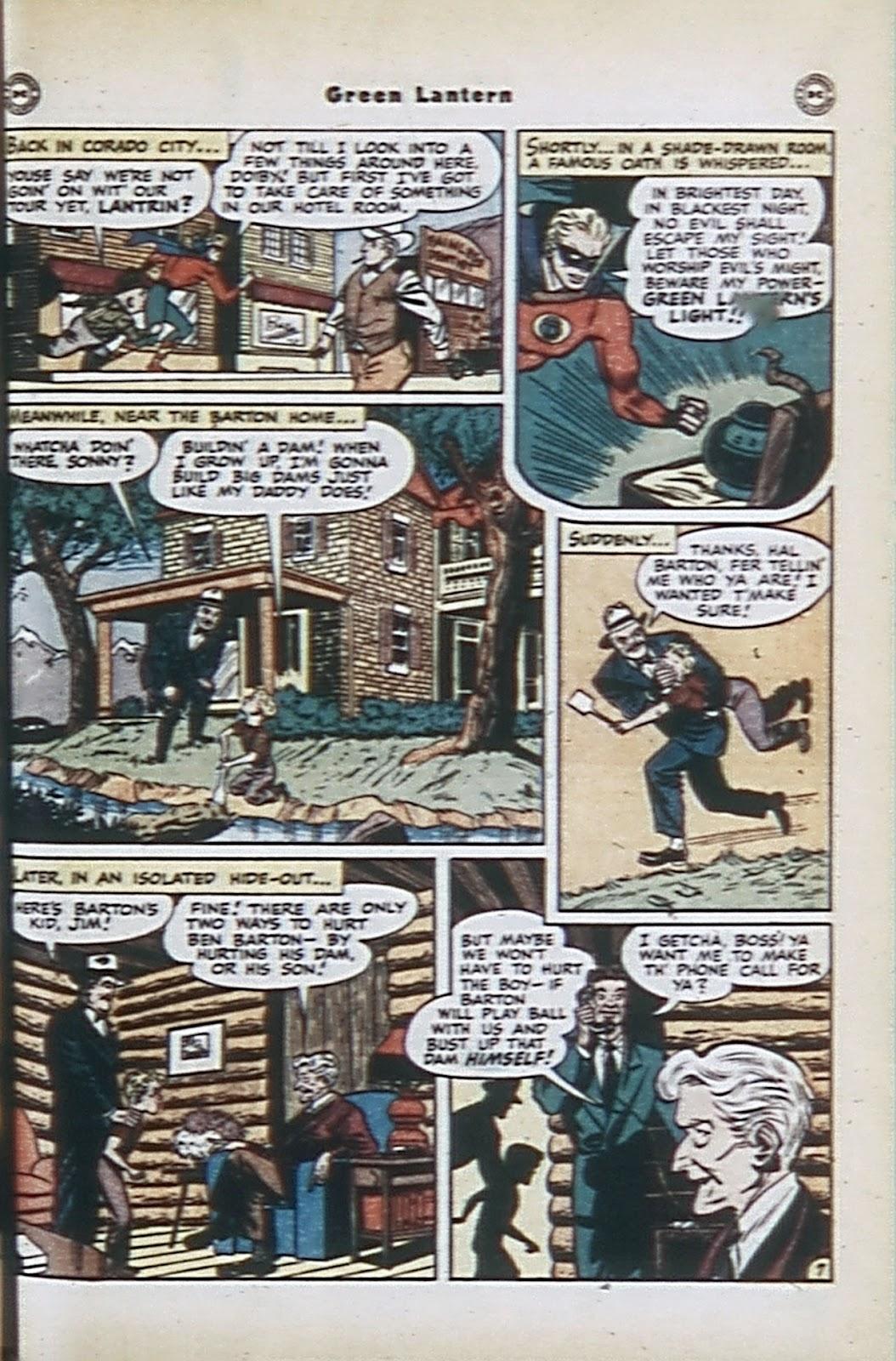 Green Lantern (1941) Issue #32 #32 - English 42