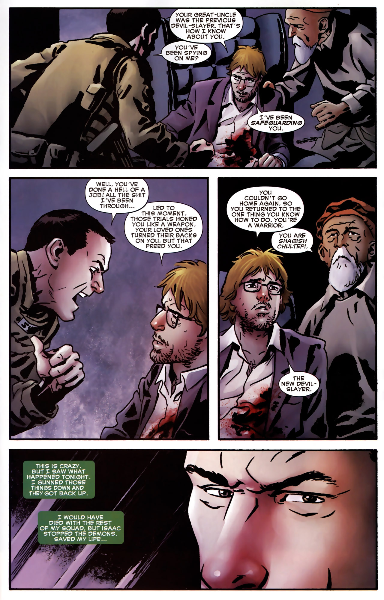Read online Dead of Night Featuring Devil-Slayer comic -  Issue #2 - 17