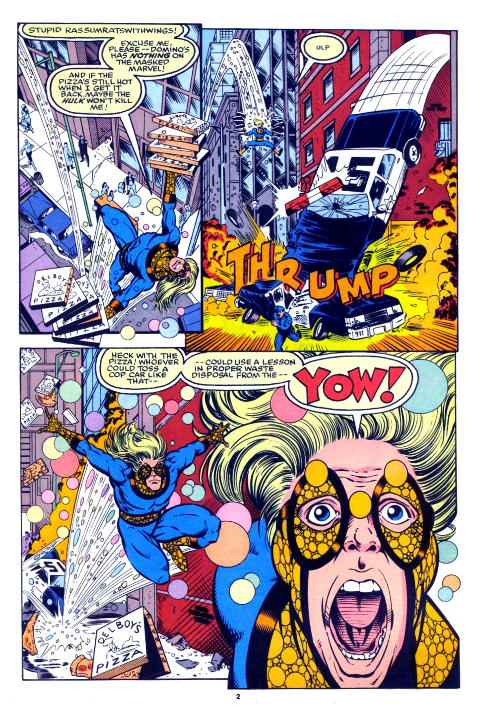 The New Warriors Issue #27 #31 - English 3