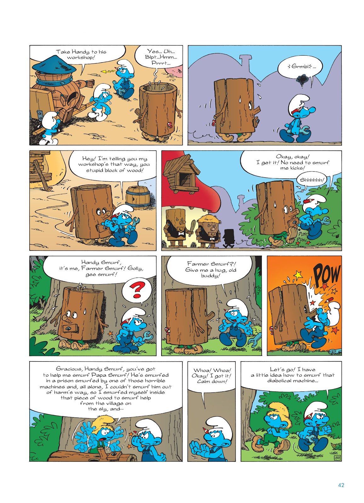 Read online The Smurfs comic -  Issue #23 - 42
