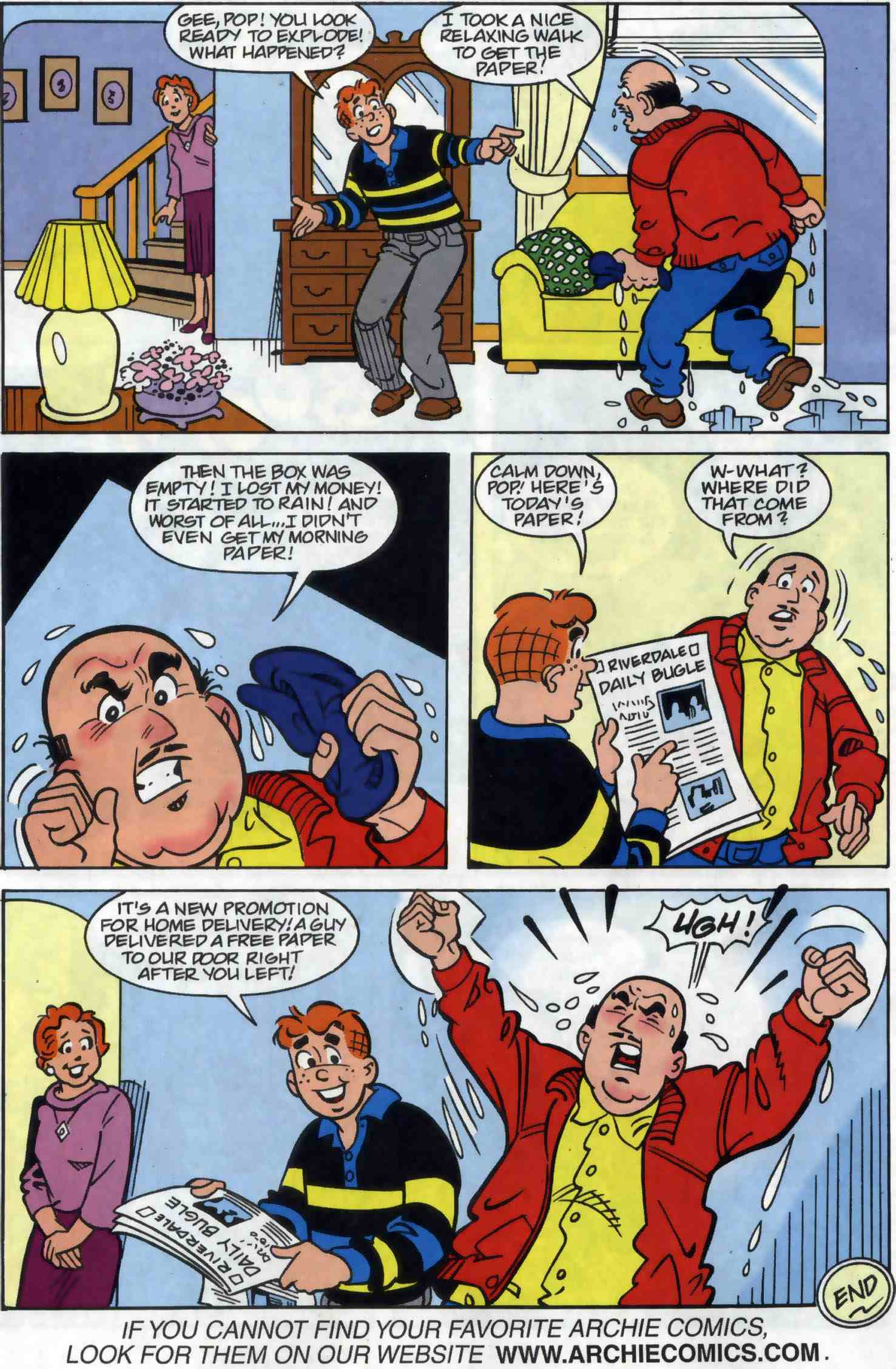 Read online Archie (1960) comic -  Issue #556 - 31