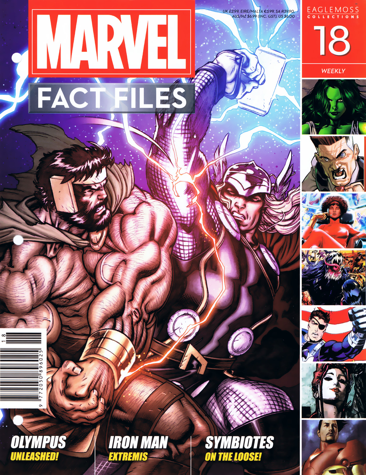 Marvel Fact Files 18 Page 1