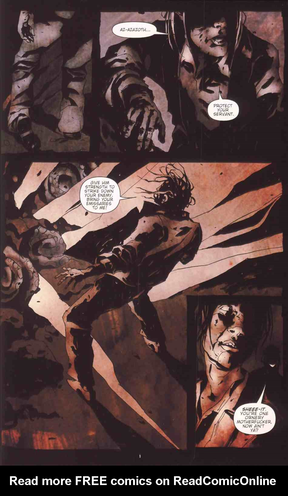Read online Silent Hill: The Grinning Man comic -  Issue # Full - 3