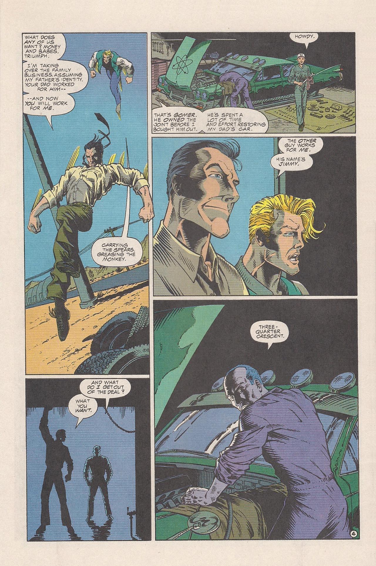 Read online Triumph comic -  Issue #4 - 6