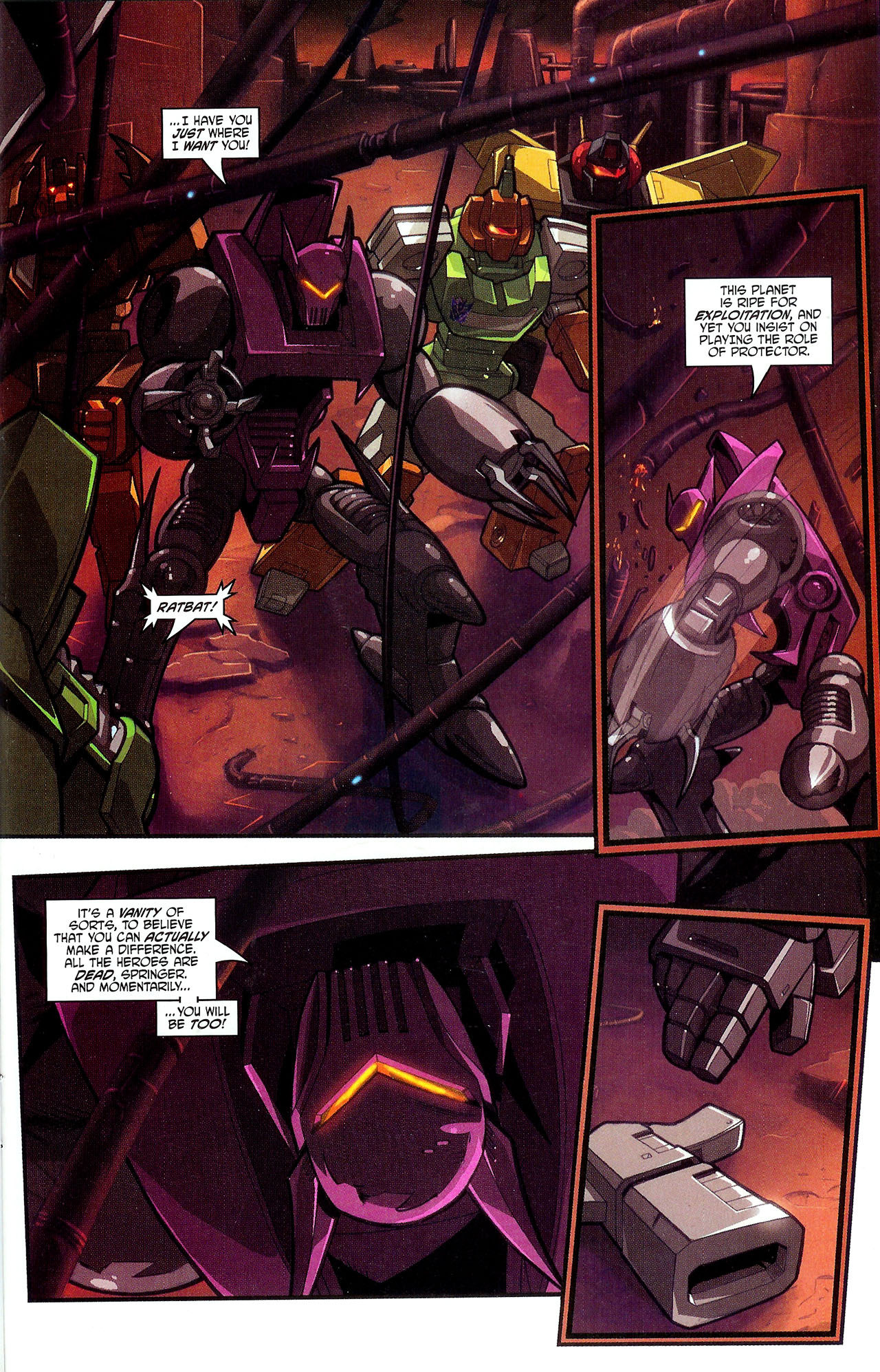 """Read online Transformers War Within: """"The Dark Ages"""" comic -  Issue #2 - 16"""