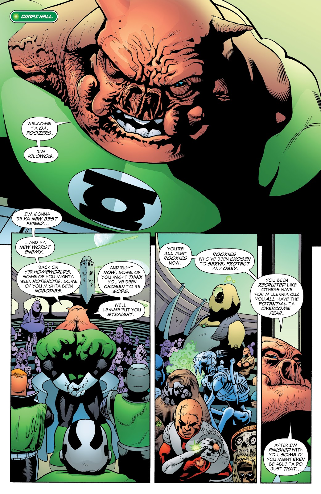 Read online Green Lantern by Geoff Johns comic -  Issue # TPB 1 (Part 2) - 94