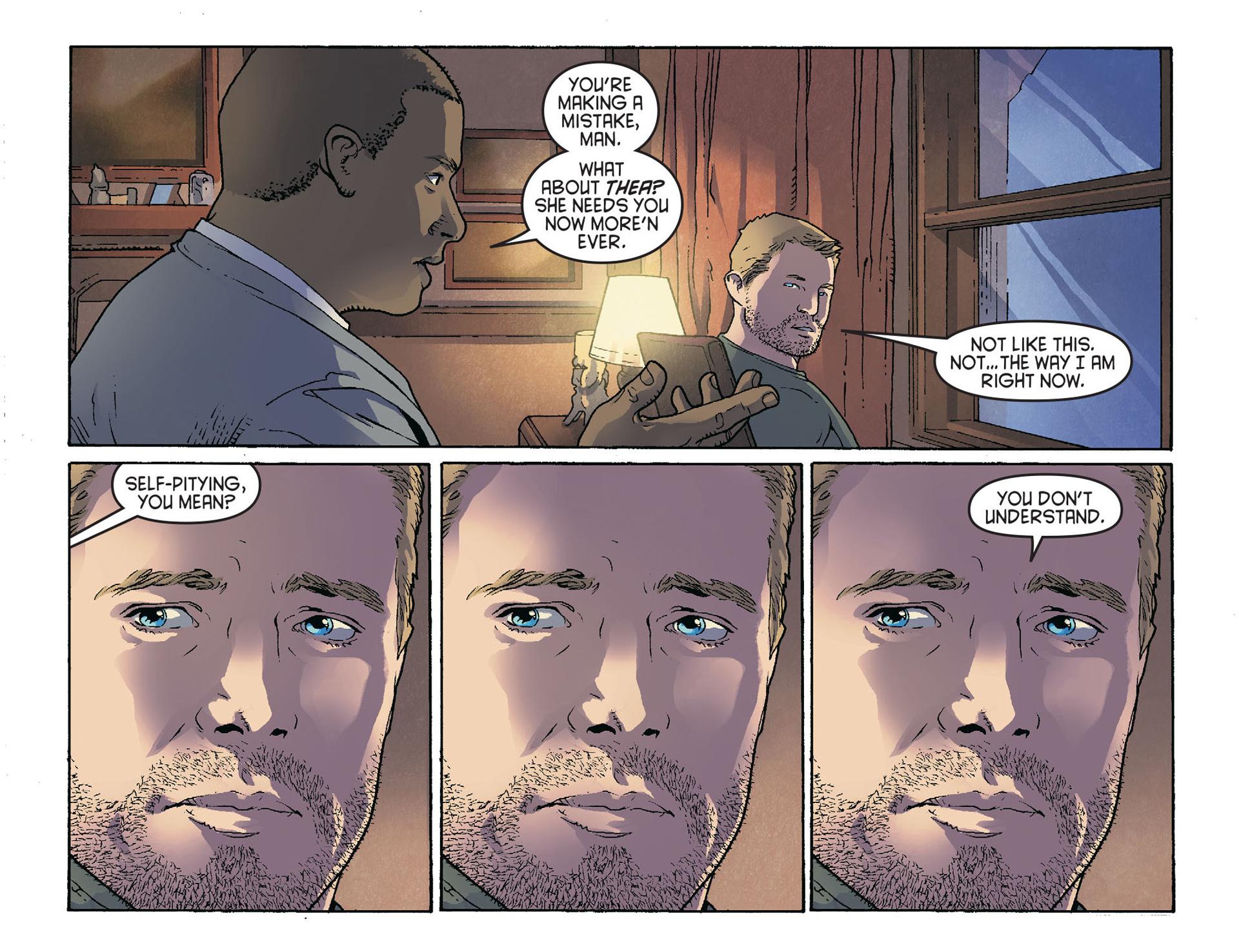 Read online Arrow [II] comic -  Issue #36 - 15