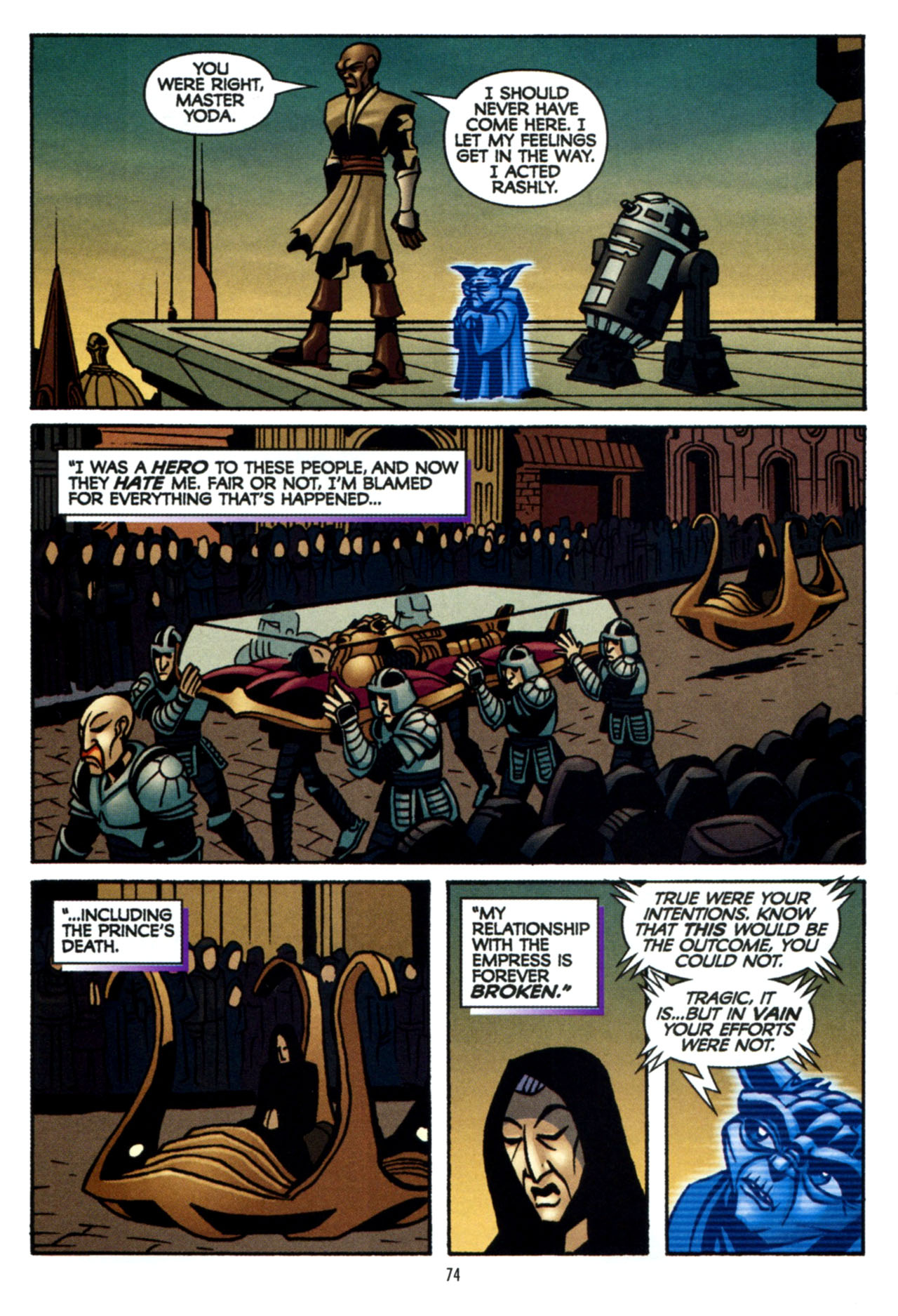 Read online Star Wars: The Clone Wars - The Colossus of Destiny comic -  Issue # Full - 74