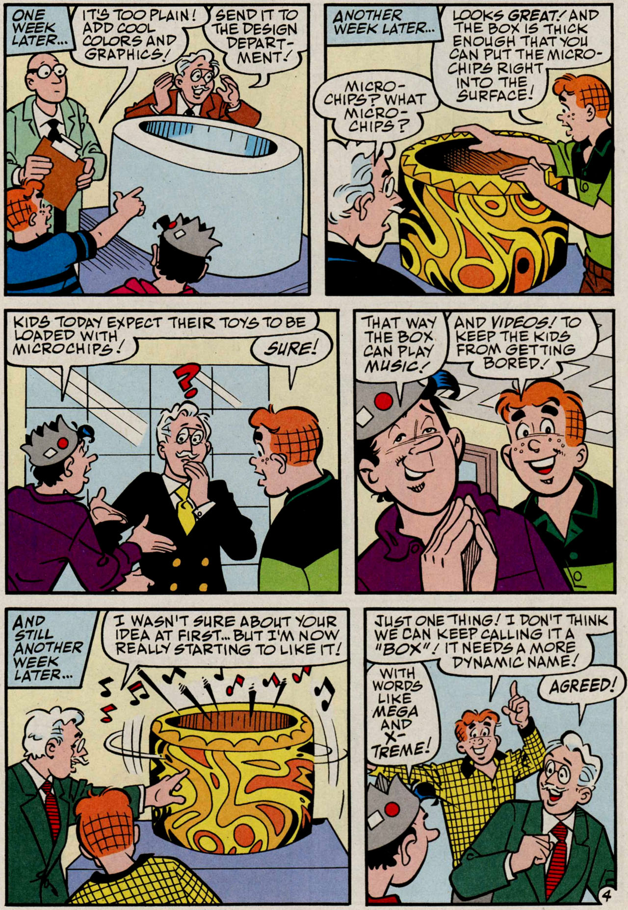 Read online Archie (1960) comic -  Issue #584 - 17