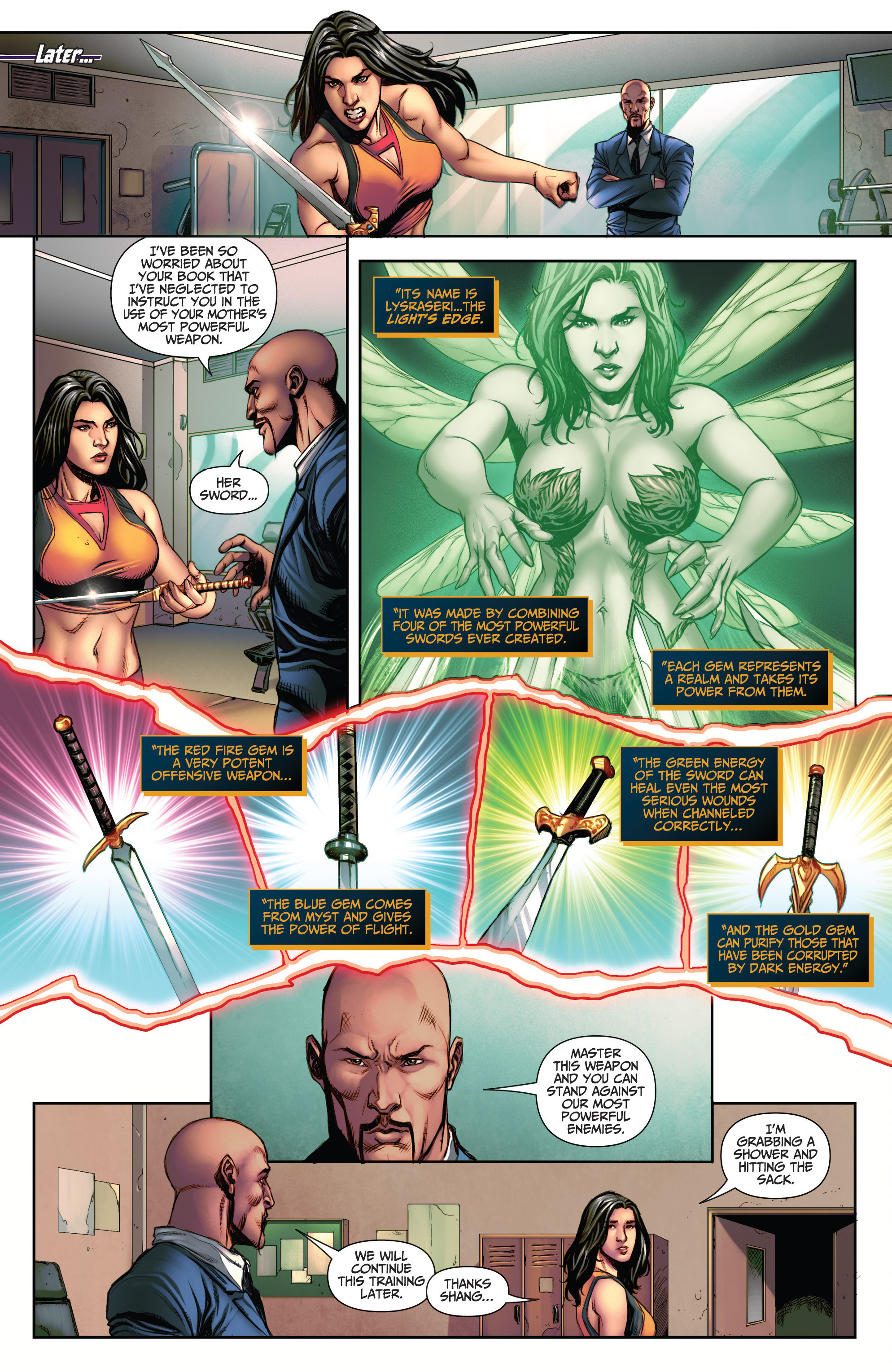 Read online Grimm Fairy Tales (2016) comic -  Issue #5 - 7