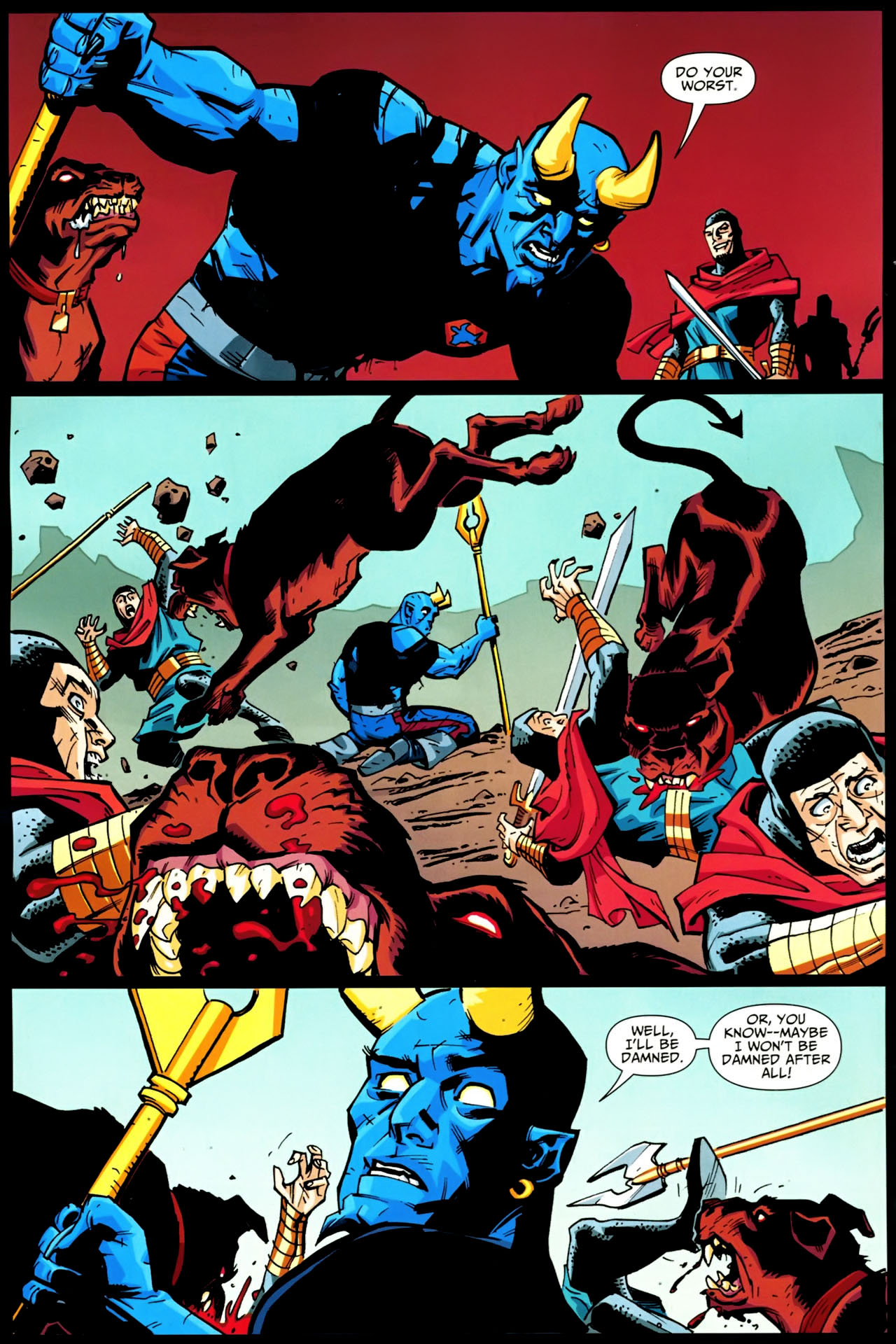 Read online Shadowpact comic -  Issue #20 - 10