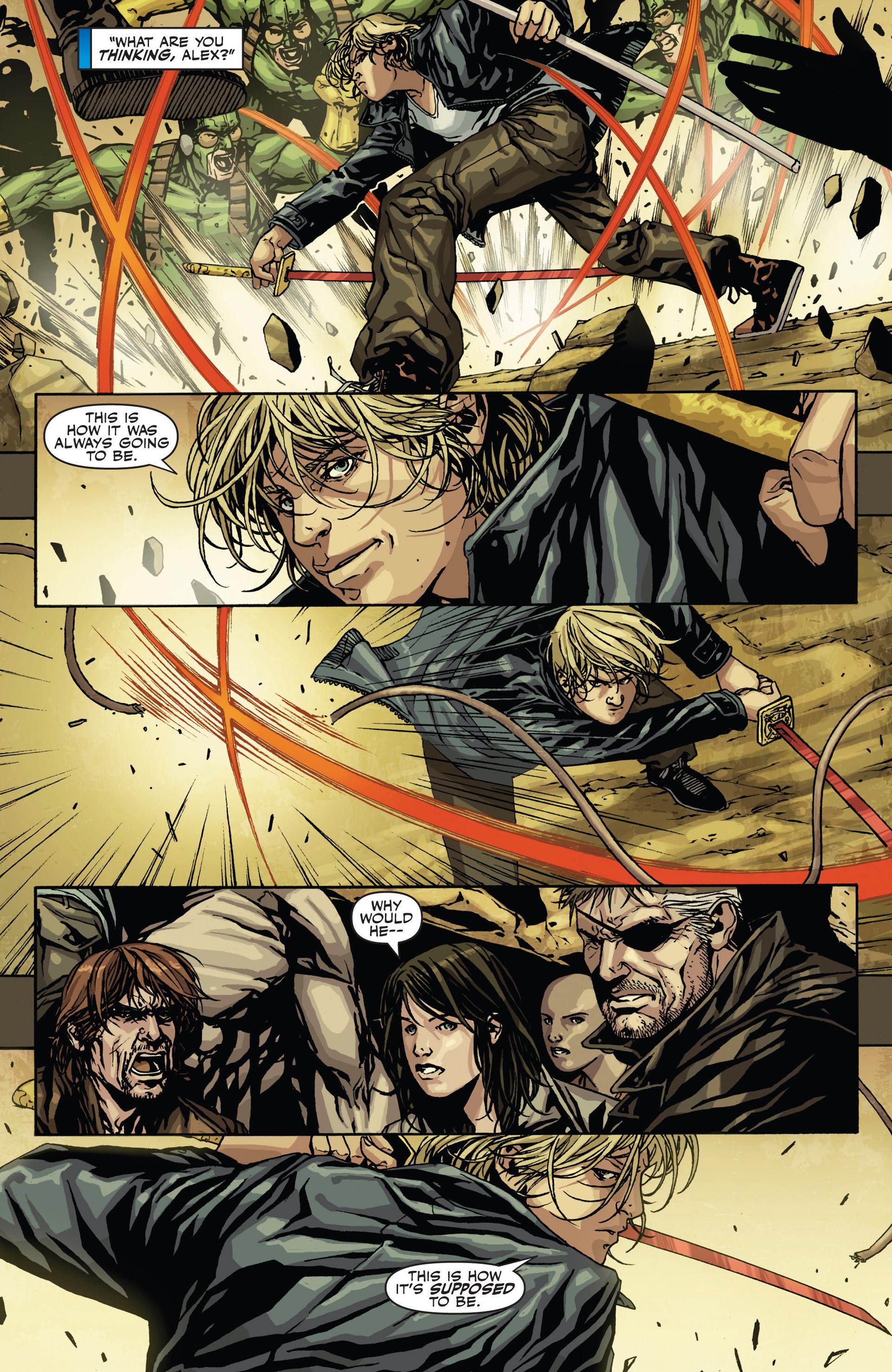 Read online Secret Warriors comic -  Issue #21 - 16