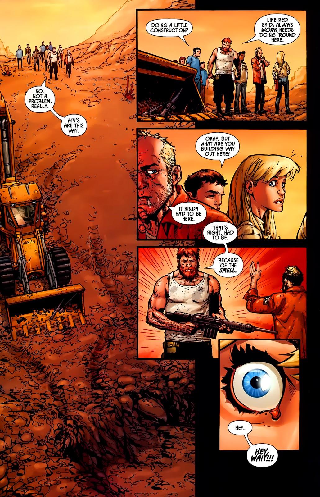 Read online Aliens (2009) comic -  Issue #1 - 18