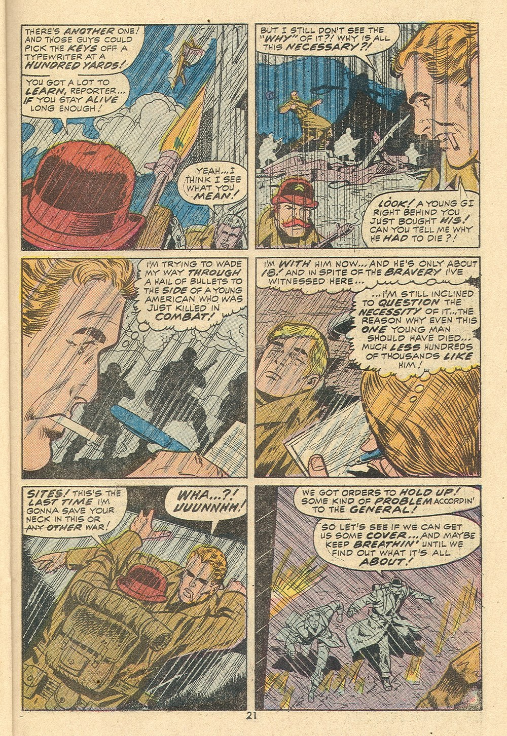 Read online Sgt. Fury comic -  Issue #110 - 23