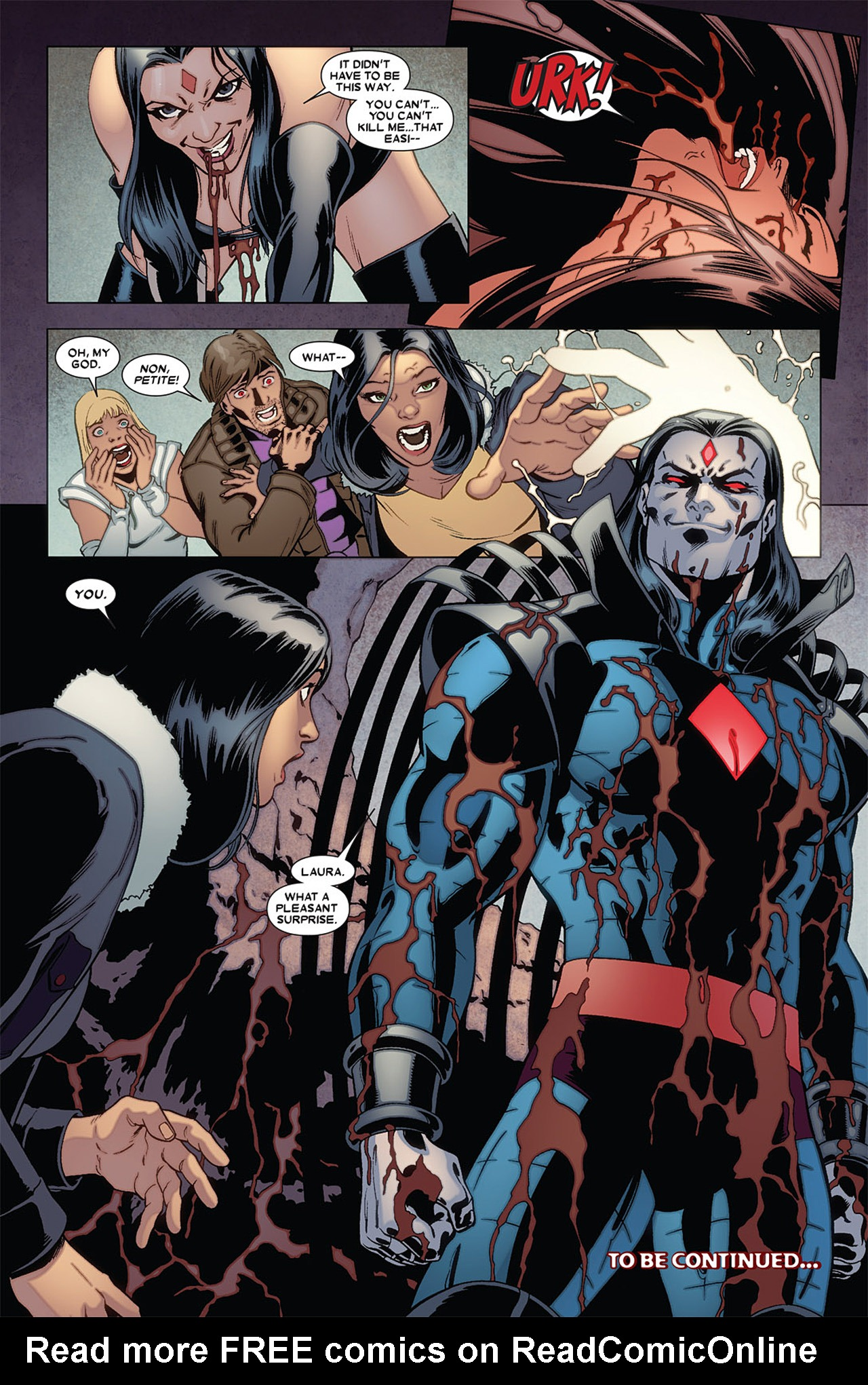 Read online X-23 (2010) comic -  Issue #5 - 23