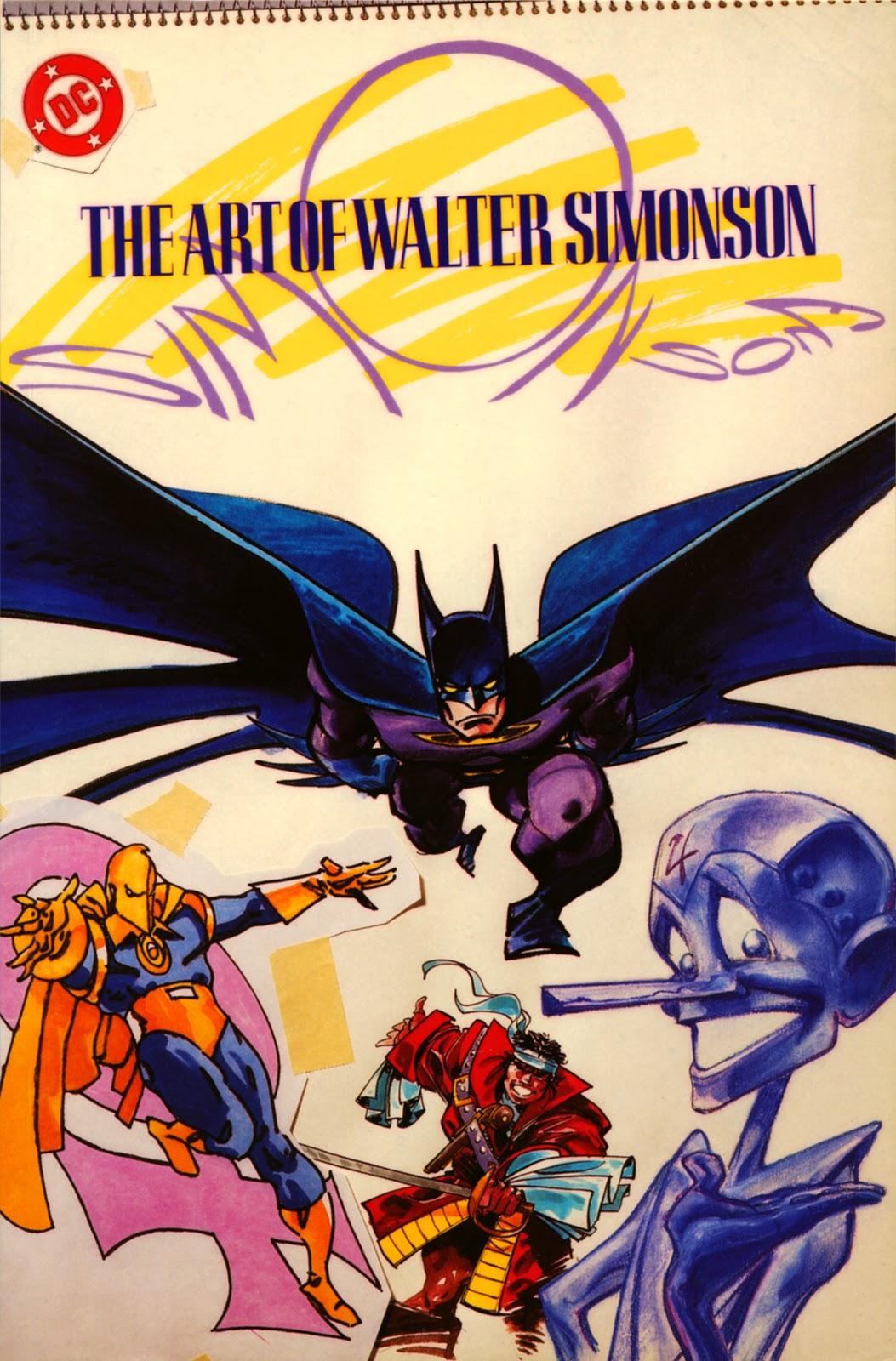 Read online The Art of Walter Simonson comic -  Issue # TPB - 1